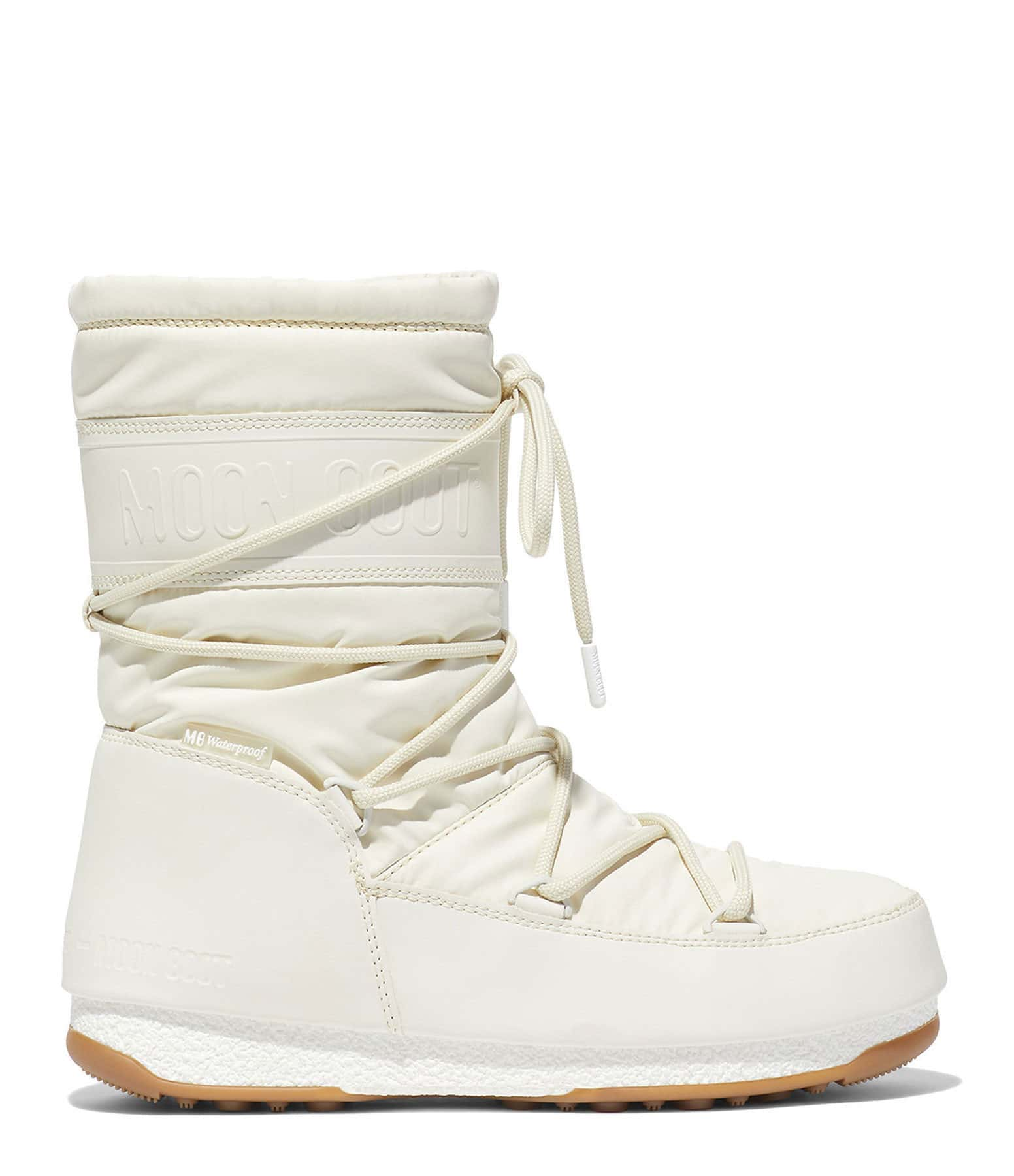 MOON BOOT - Moon Boot Mid Rubber Crème