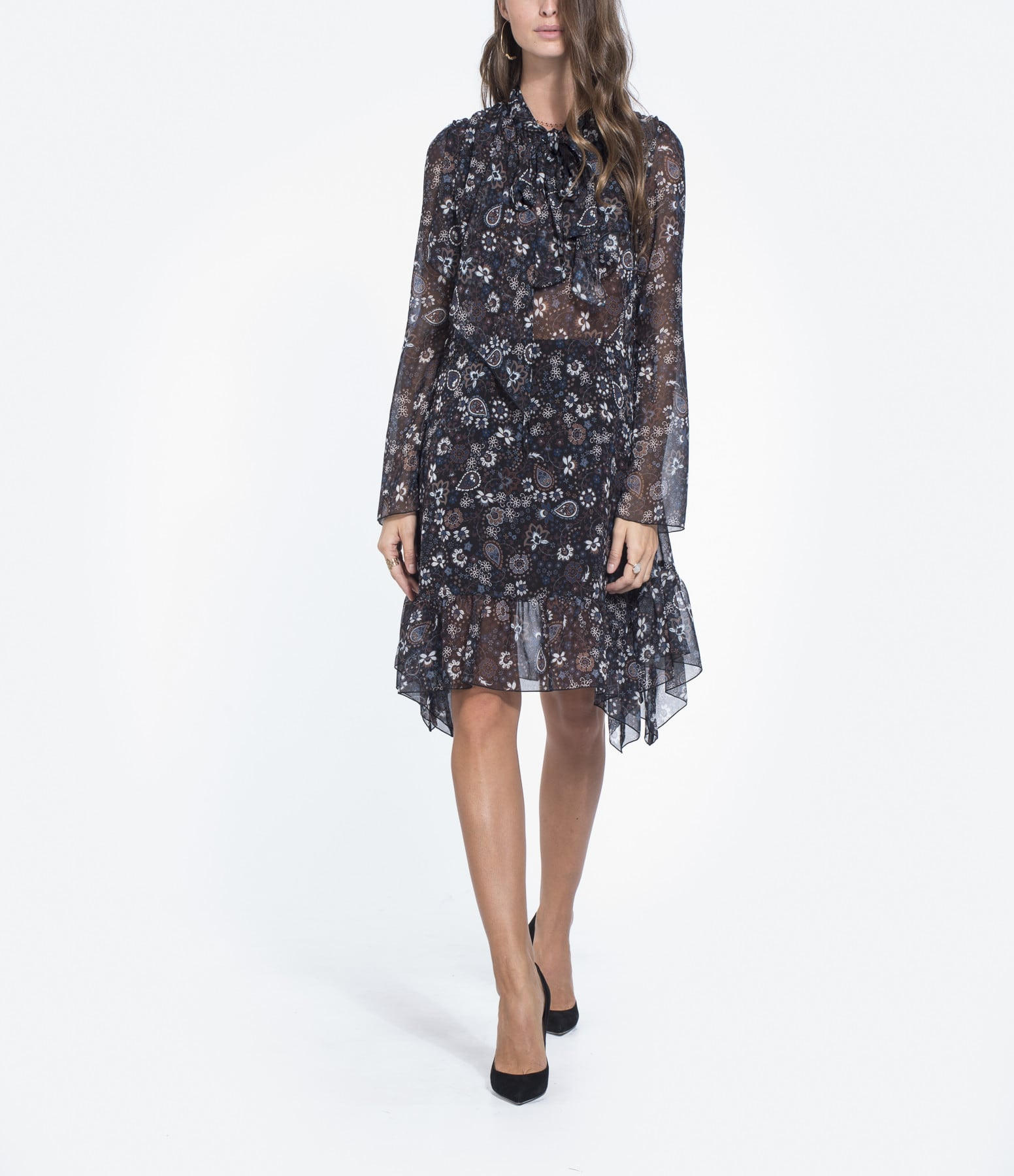 SEE BY CHLOE - Robe Floral Multicolore
