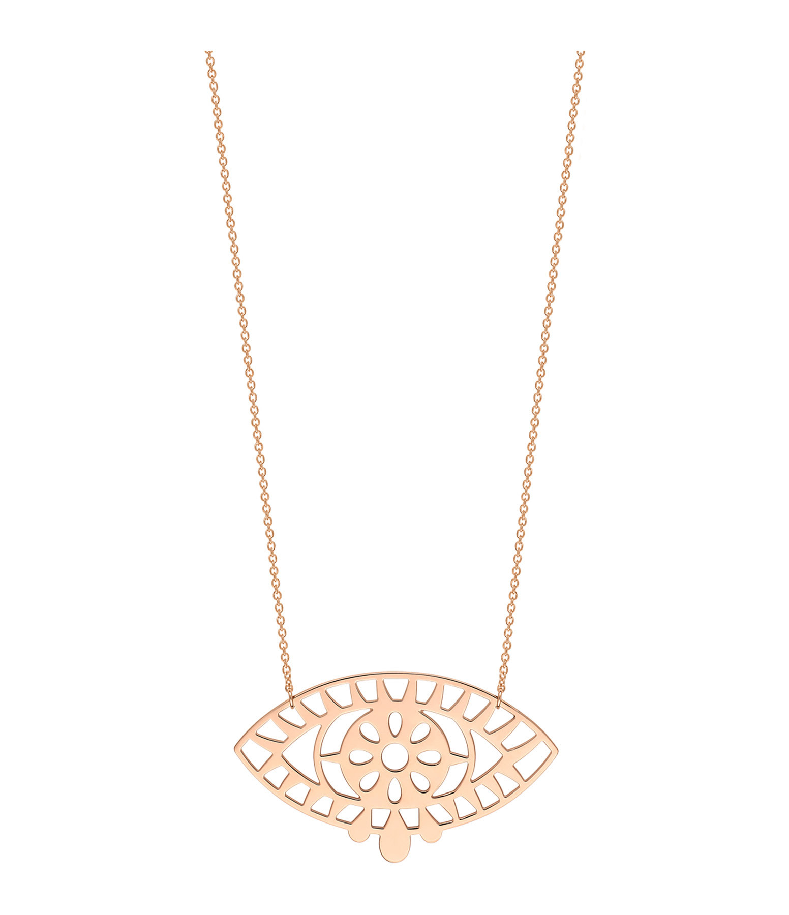 GINETTE NY - Collier Ajna Or Rose