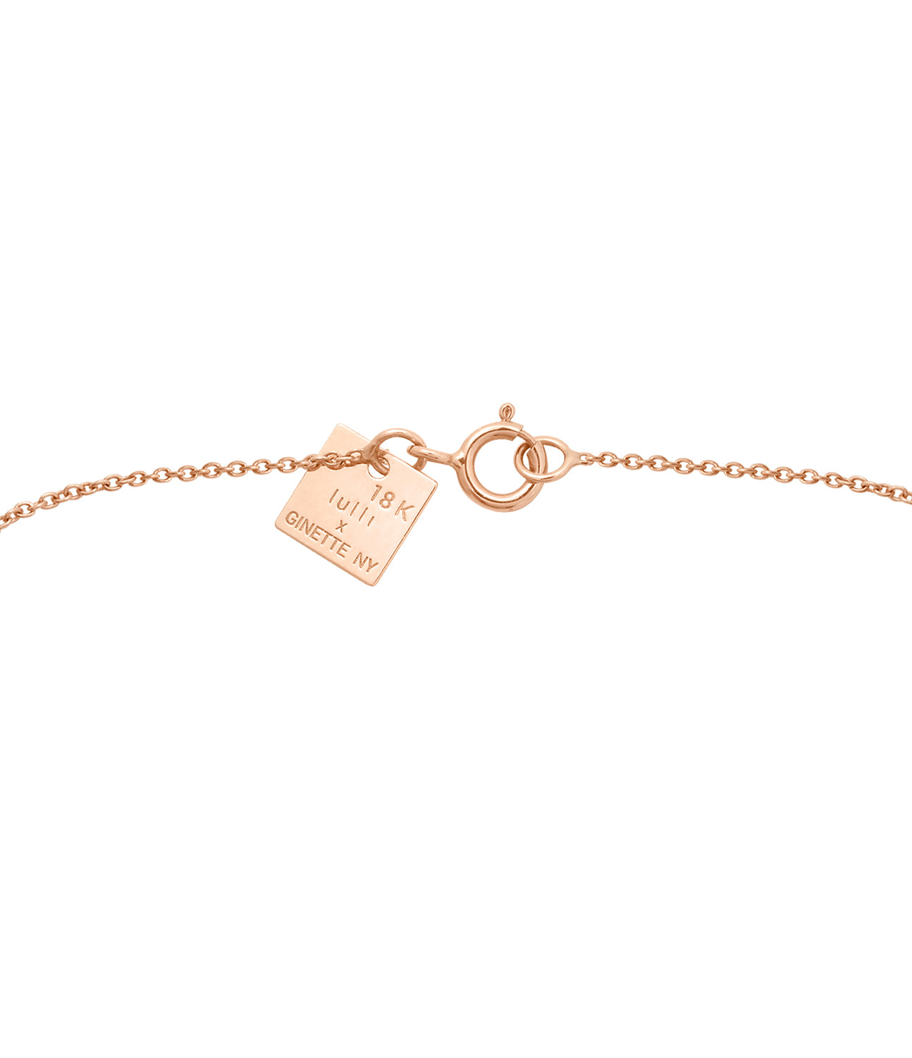 GINETTE_NY - Collier Angèle Exclusivité Lulli Or Rose