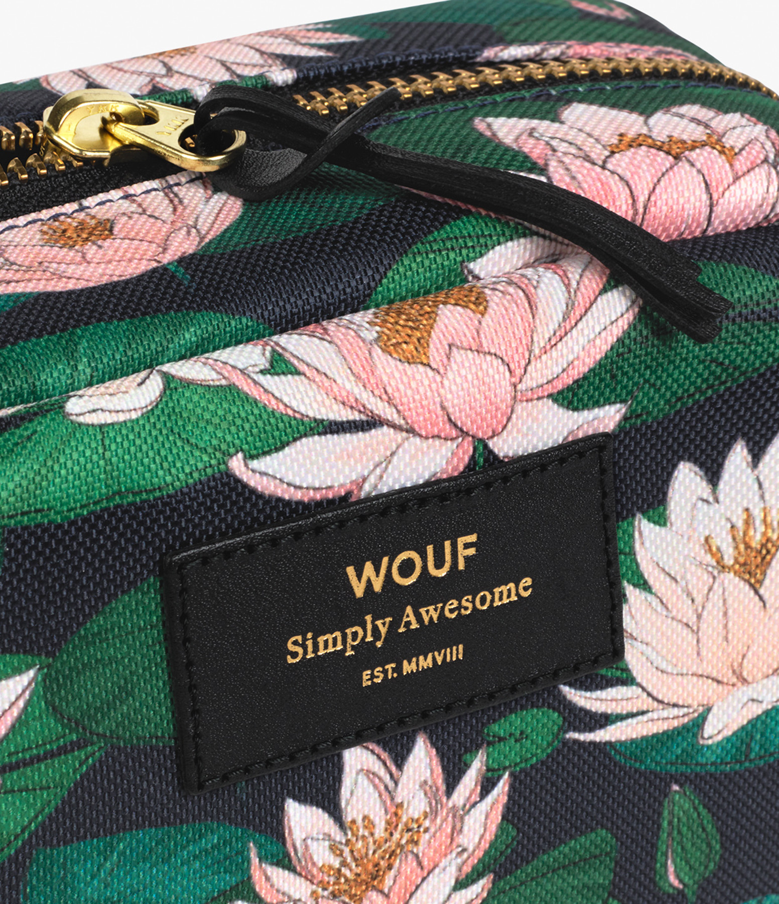 WOUF - Trousse Big Beauty Nénuphares