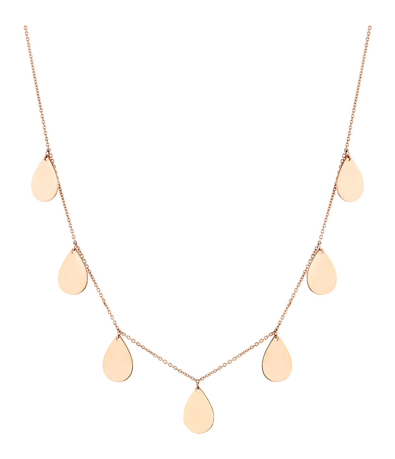 GINETTE NY - Collier 7 Bliss Or Rose