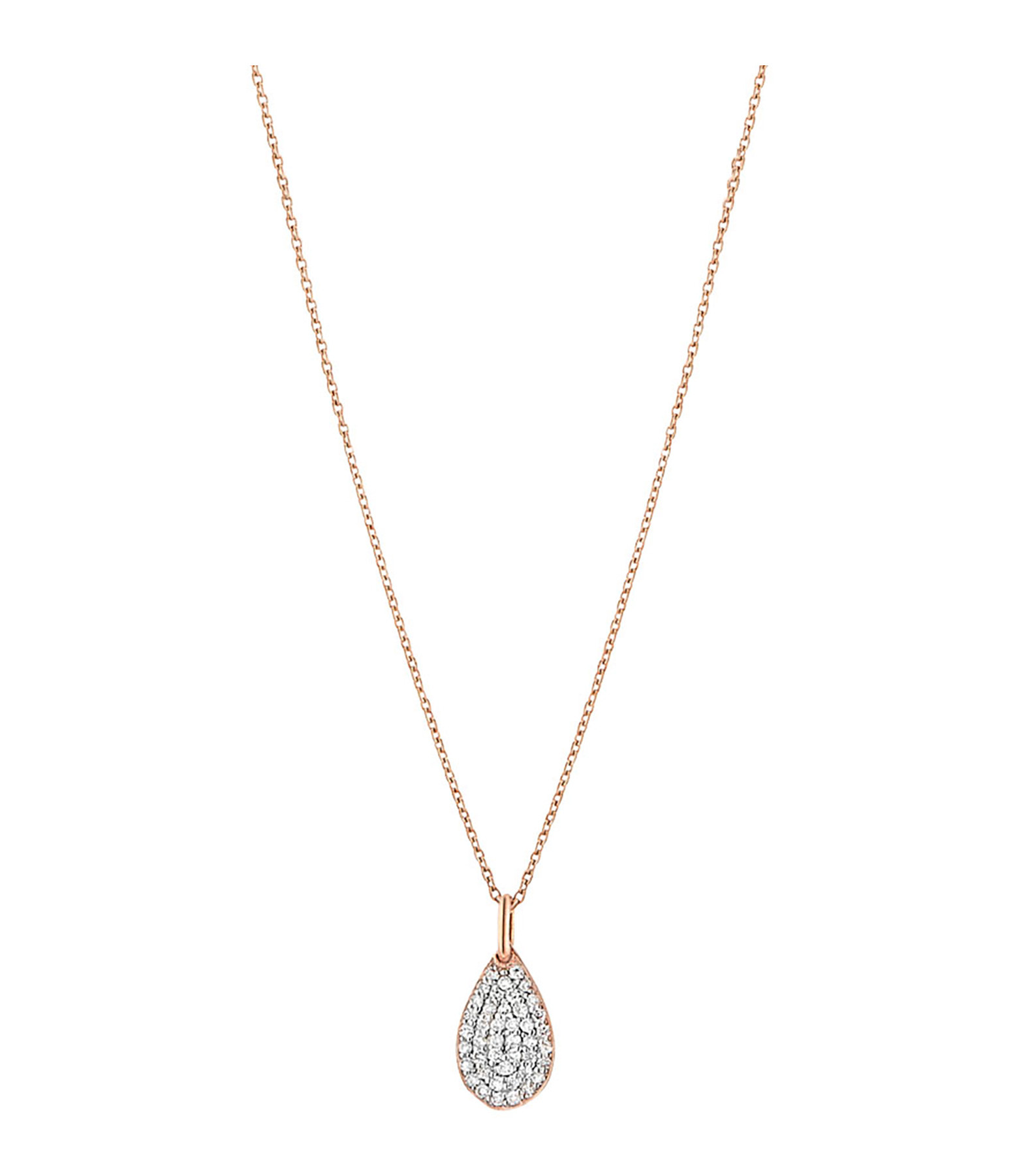 GINETTE NY - Collier Bliss Diamants Or Rose