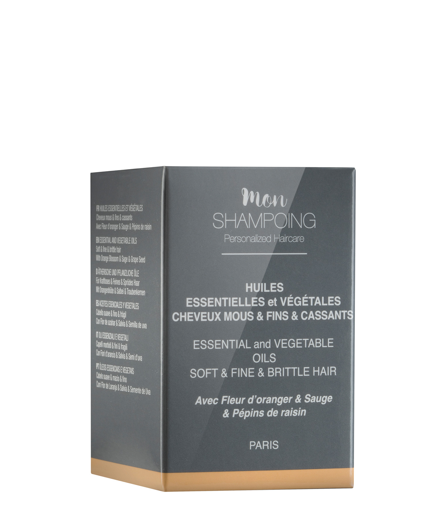 MON SHAMPOING - Booster Huiles Essentielles Cheveux Fins 5ml