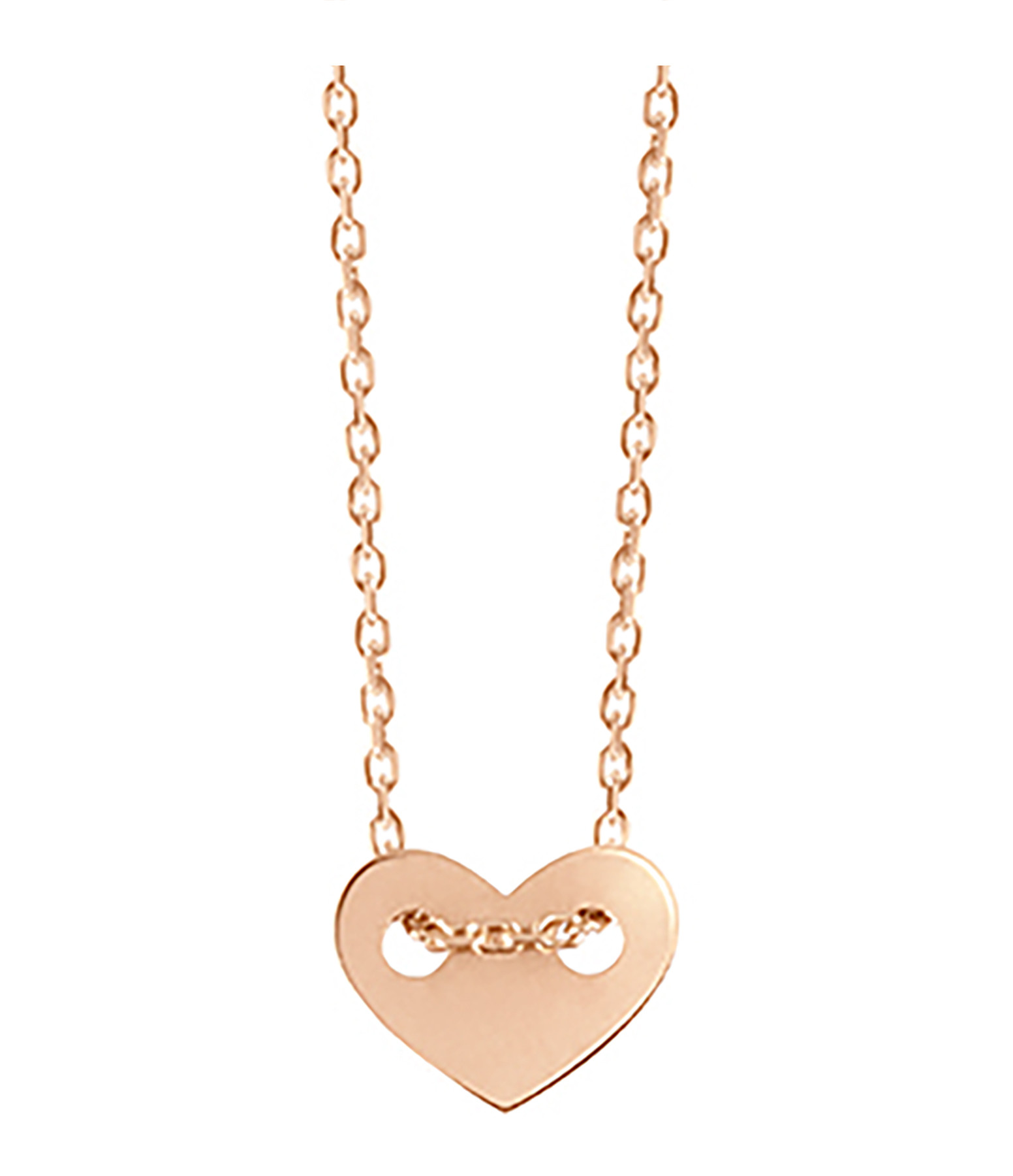 VANRYCKE - Collier Angie XS Or Rose