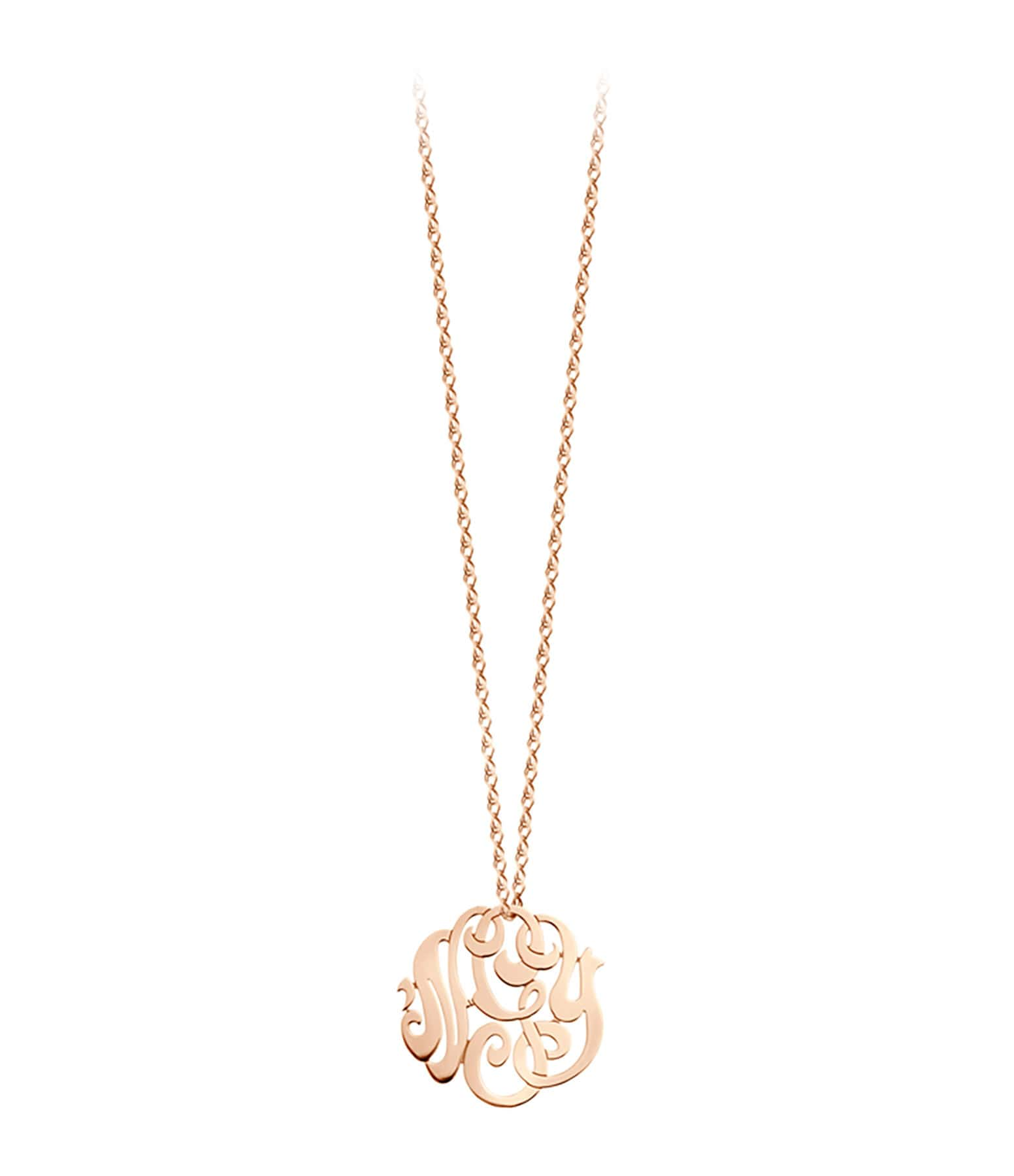 Collier baby monogramme nGy