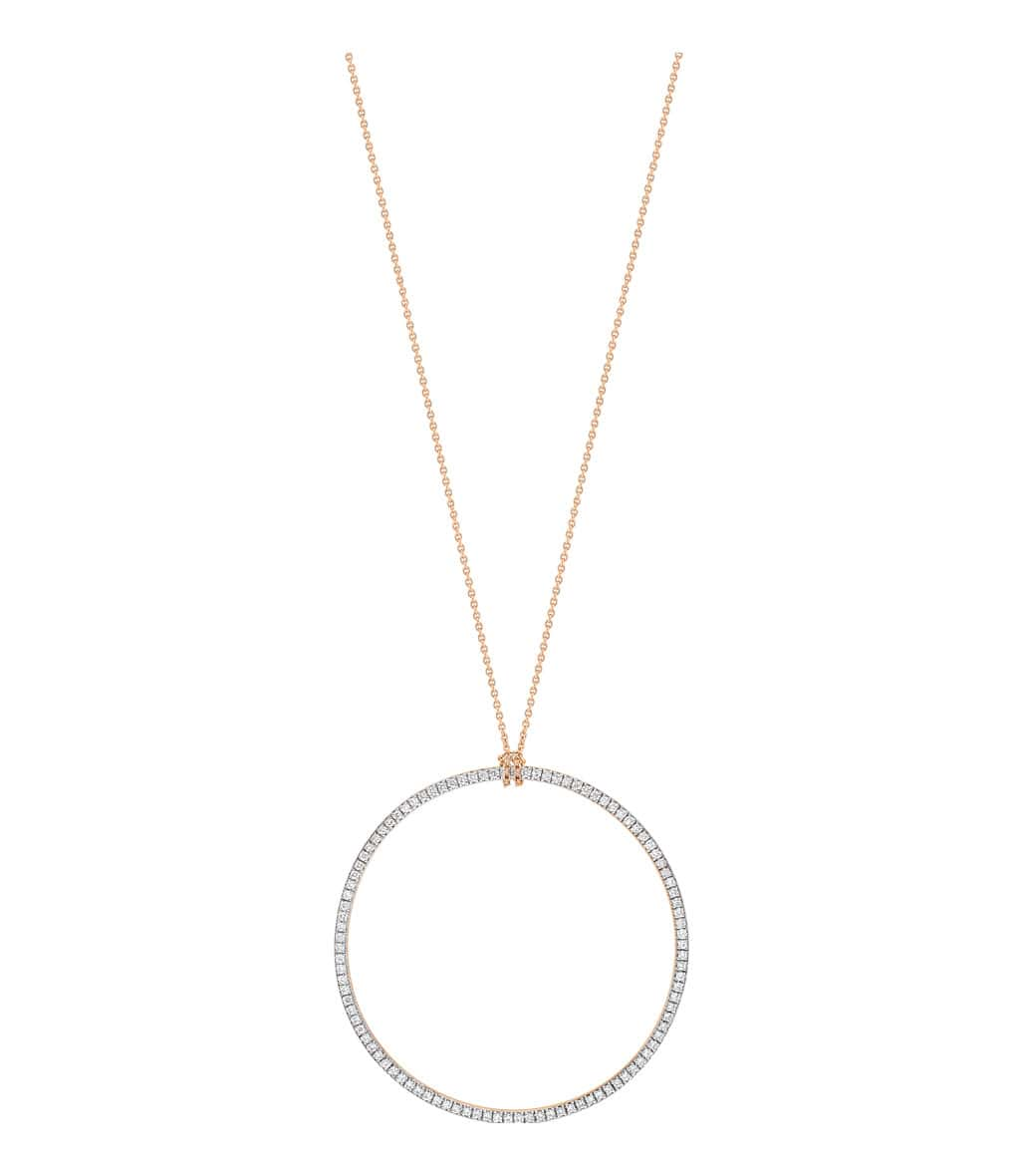 Collier Diamond Cercle - GINETTE_NY