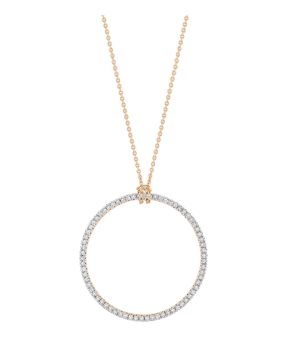 Collier Baby Diamond Cercle - GINETTE_NY