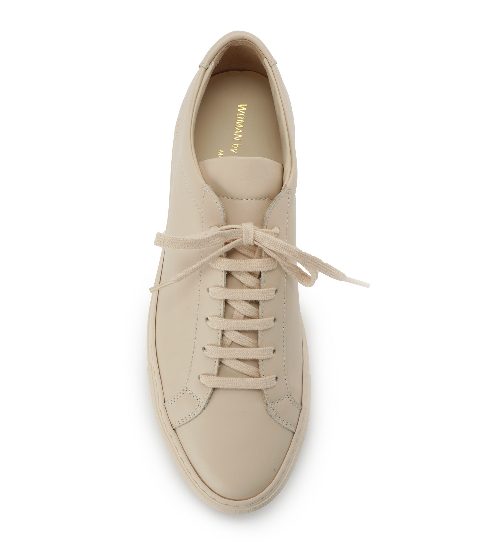 COMMON PROJECTS - Baskets Original Achilles Low Cuir Nude