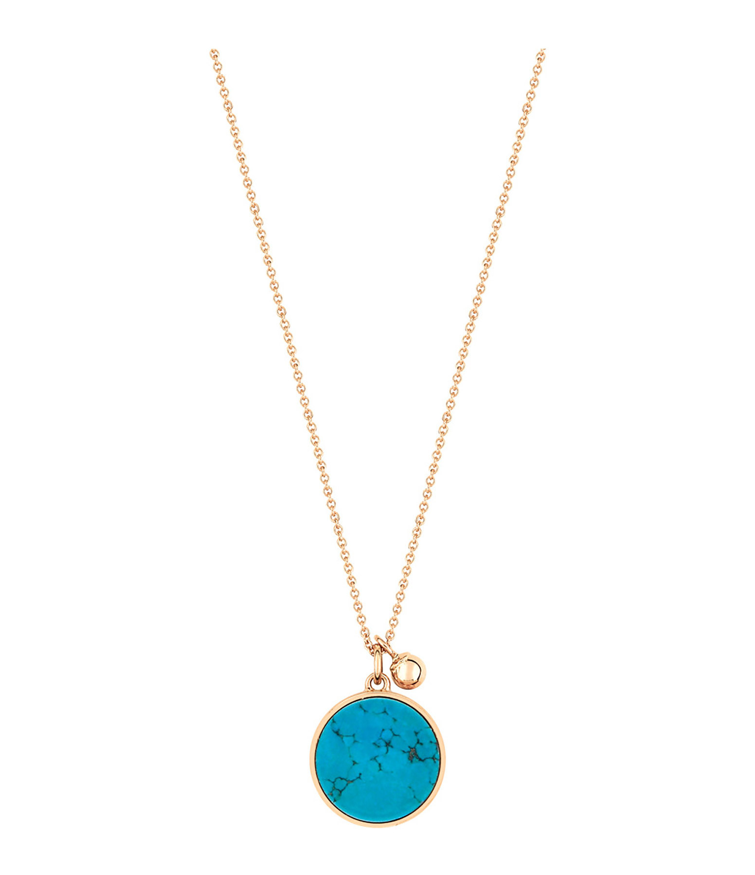 Collier Ever Disc Turquoise - GINETTE_NY