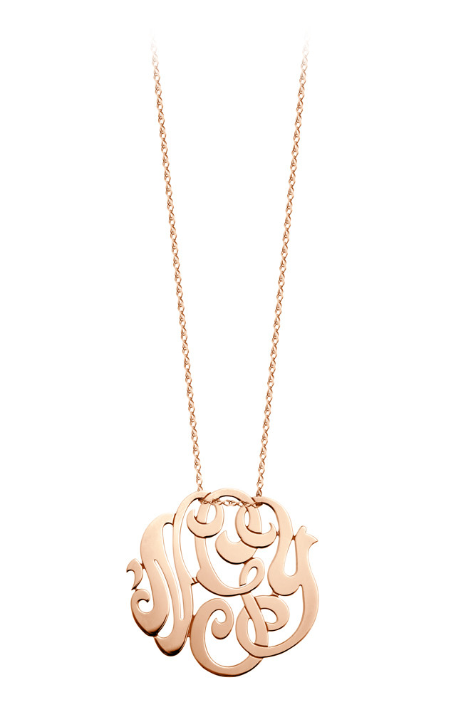 Collier monogramme nGy mm