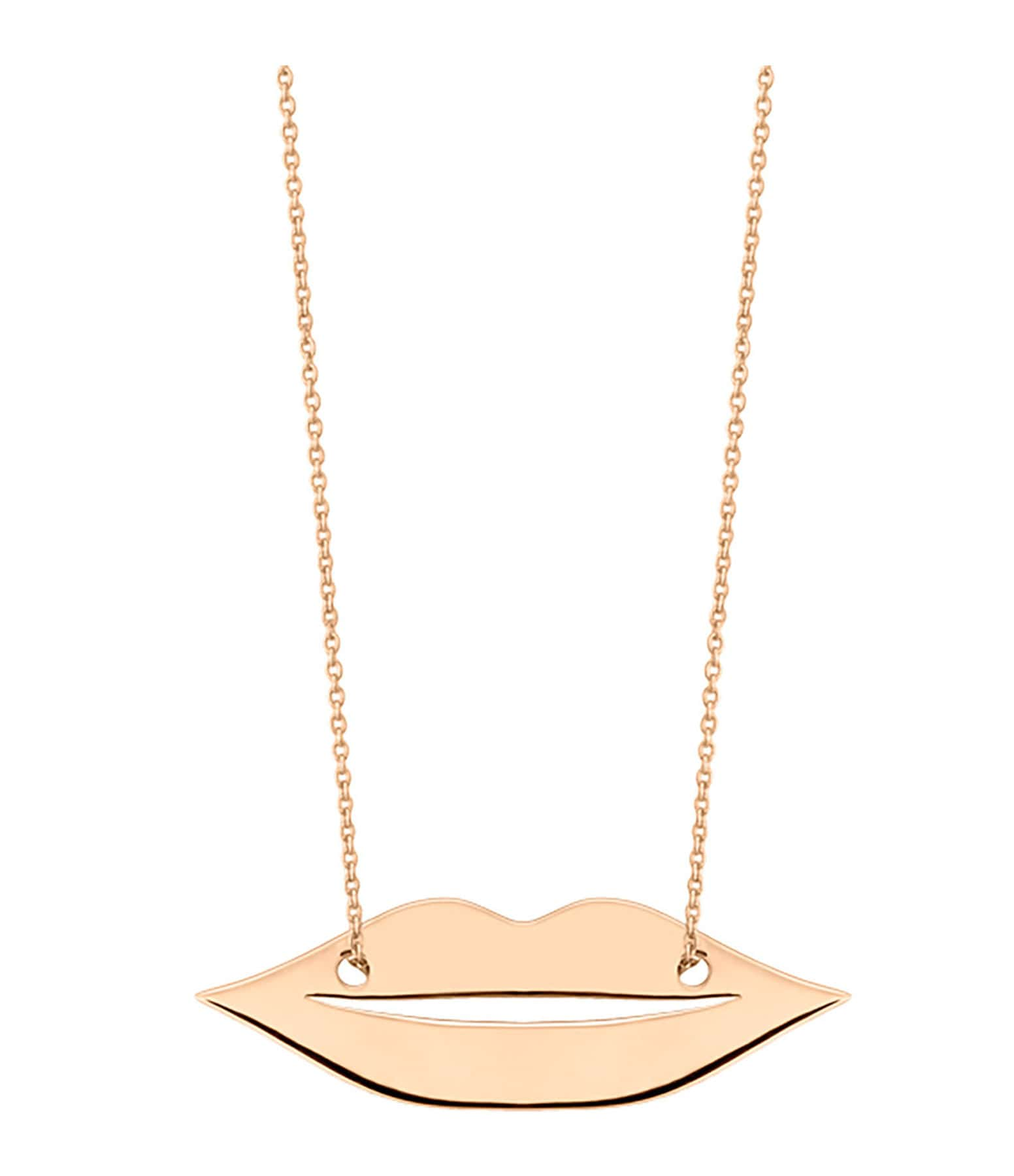 GINETTE NY - Collier French Kiss Or Rose