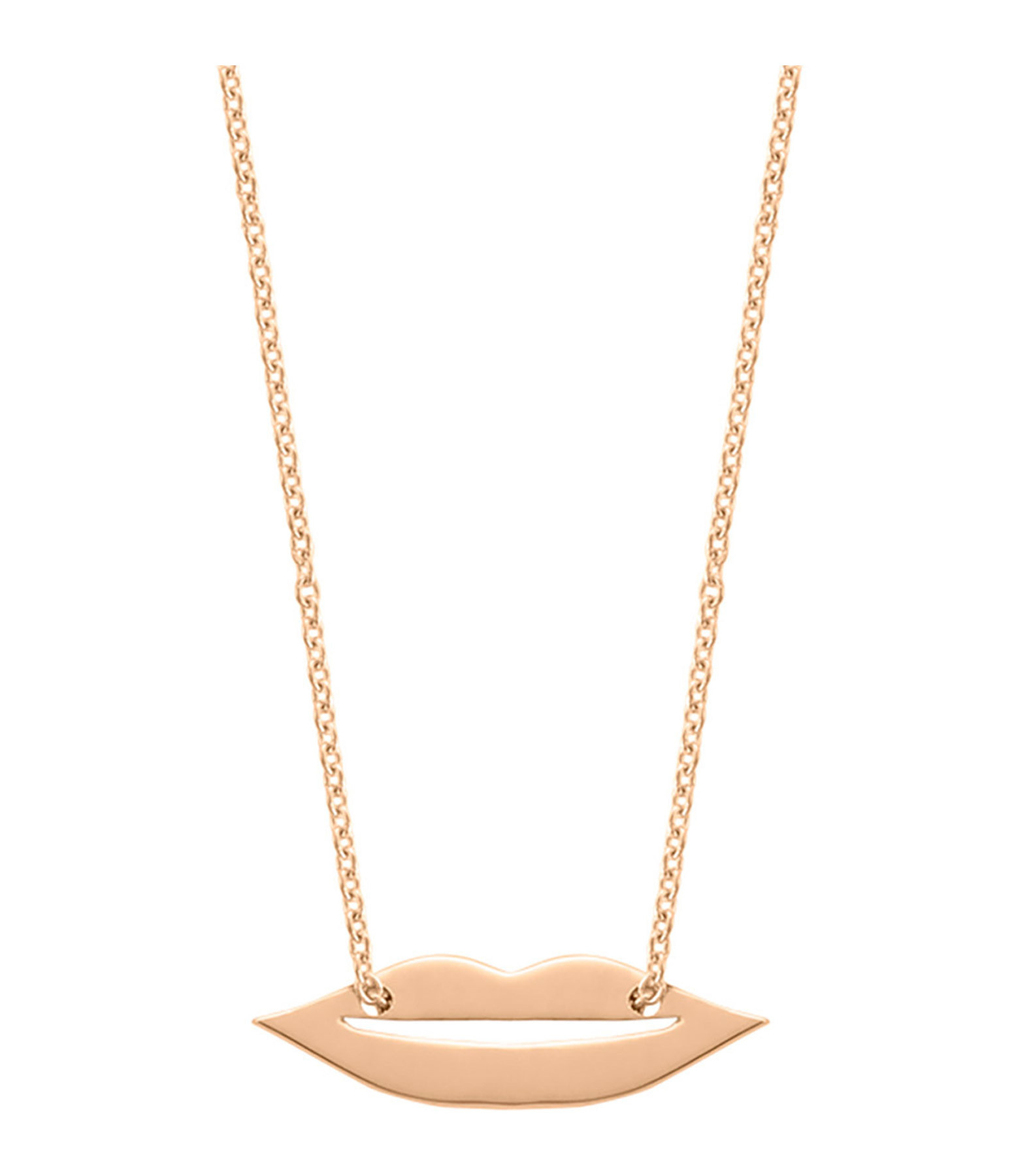 GINETTE NY - Collier Mini French Kiss Or Rose