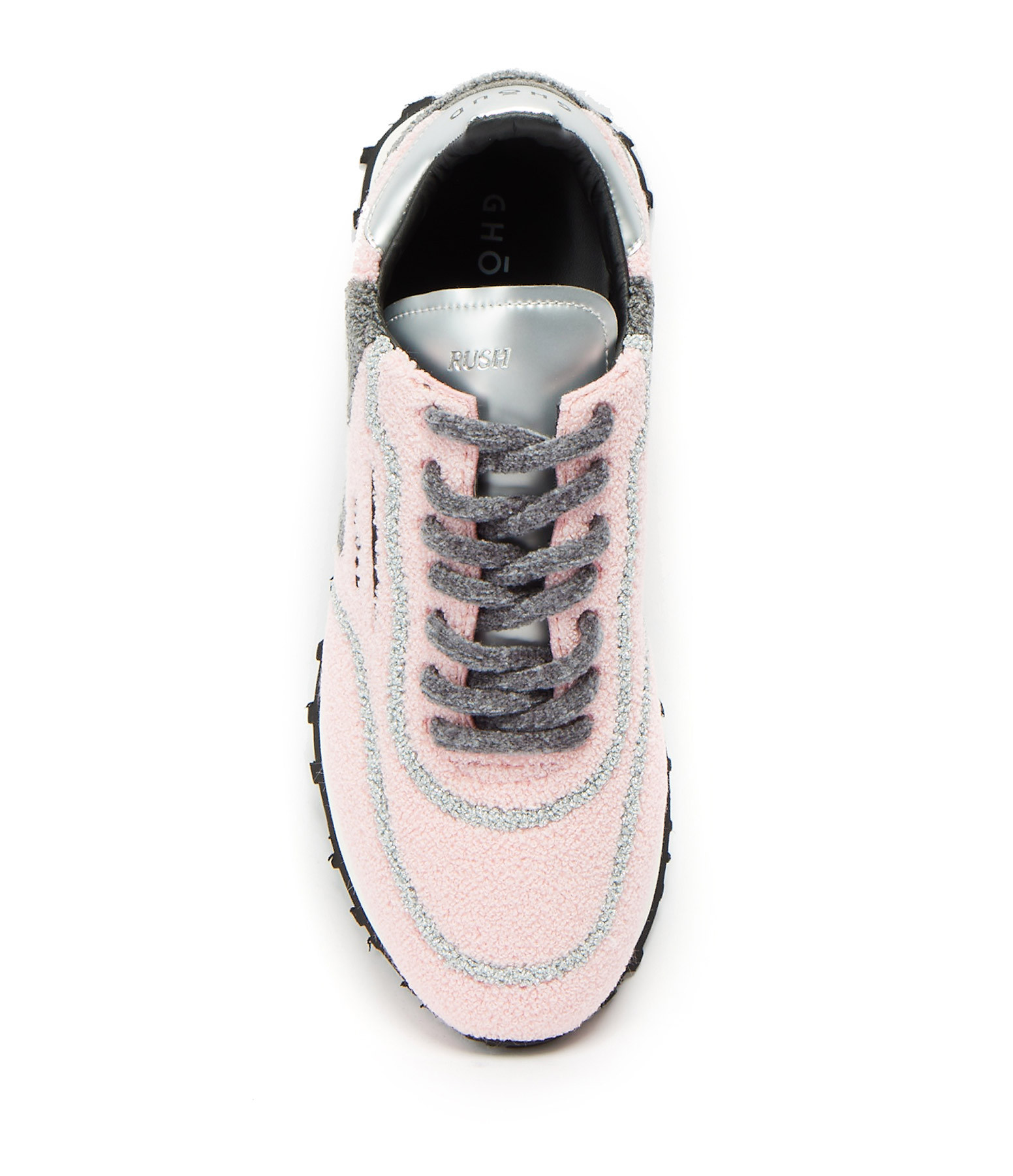 GHOUD VENICE - Baskets Rush One Low Cuir Rose