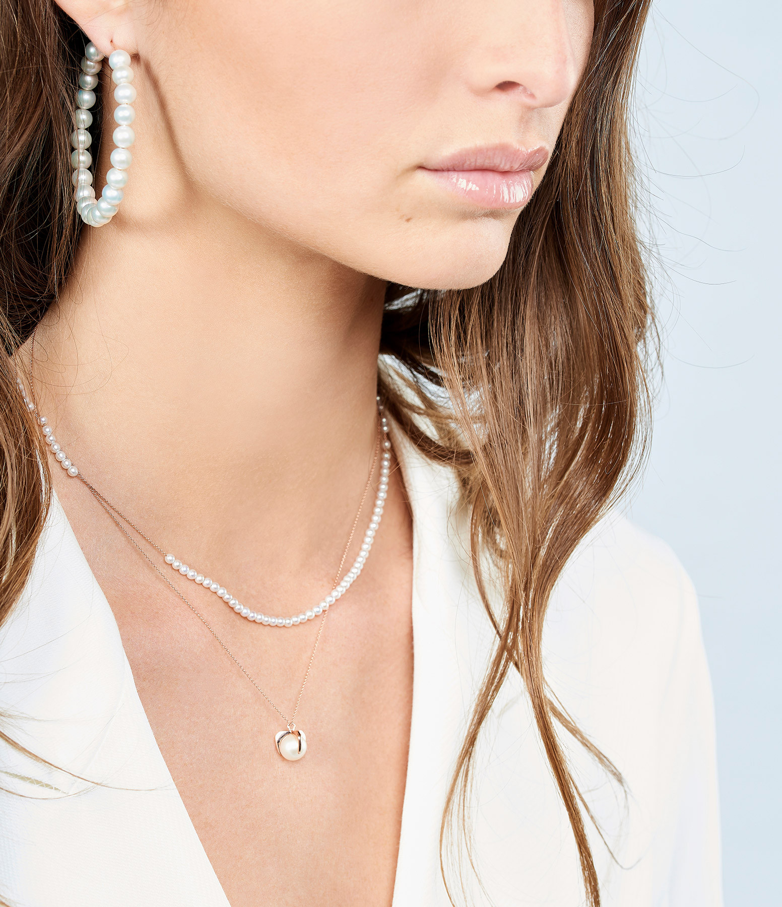 GINETTE_NY - Collier Maria Boulier Perle