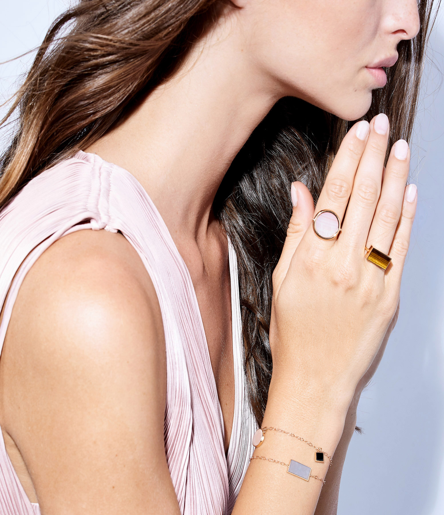 GINETTE_NY - Bague Ever Disc Frost