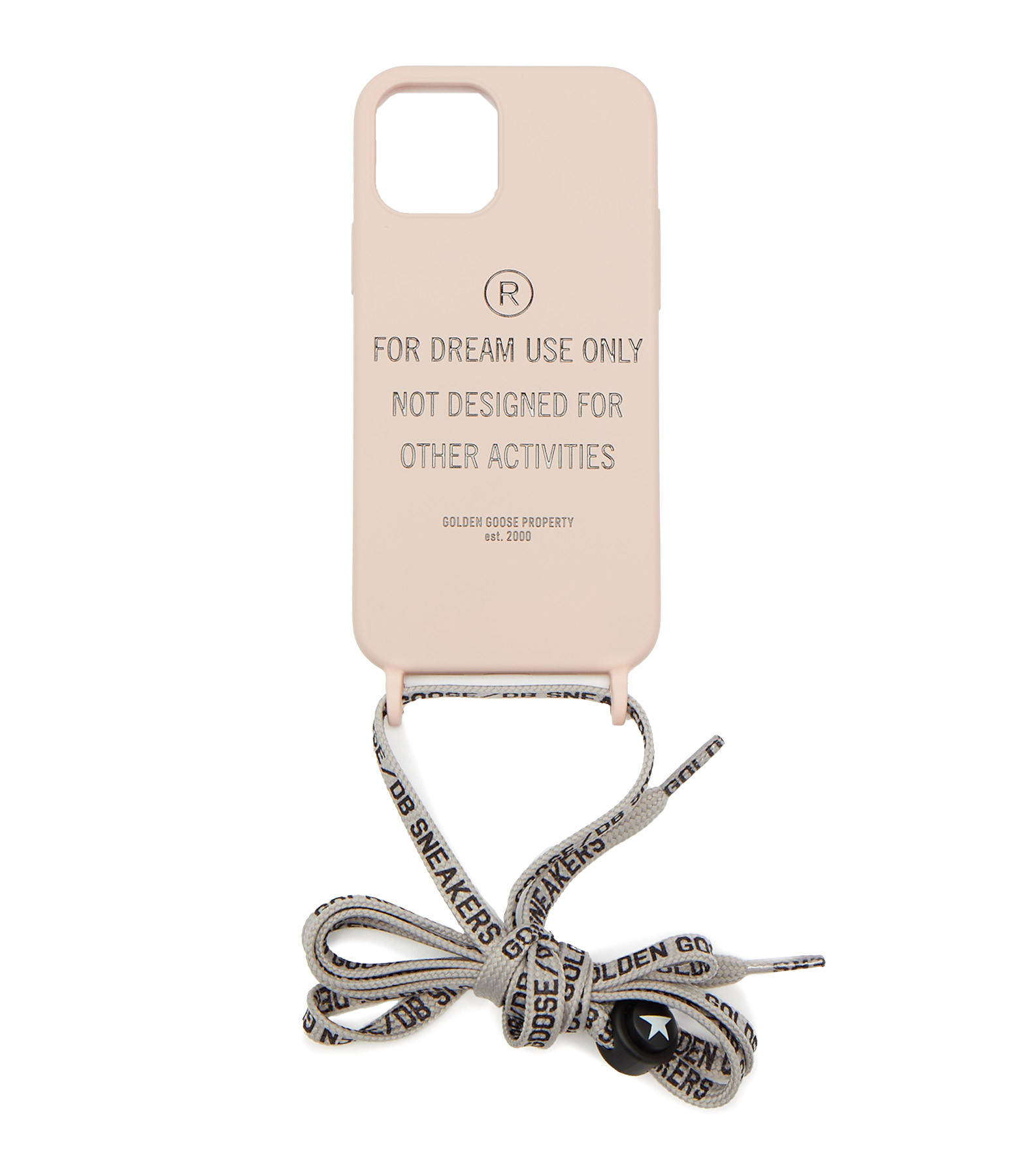 GOLDEN GOOSE - Coque Iphone For Dream Use Only Rose