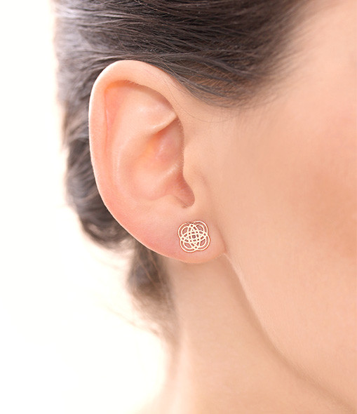 Boucles d'oreilles Purity Studs - GINETTE_NY
