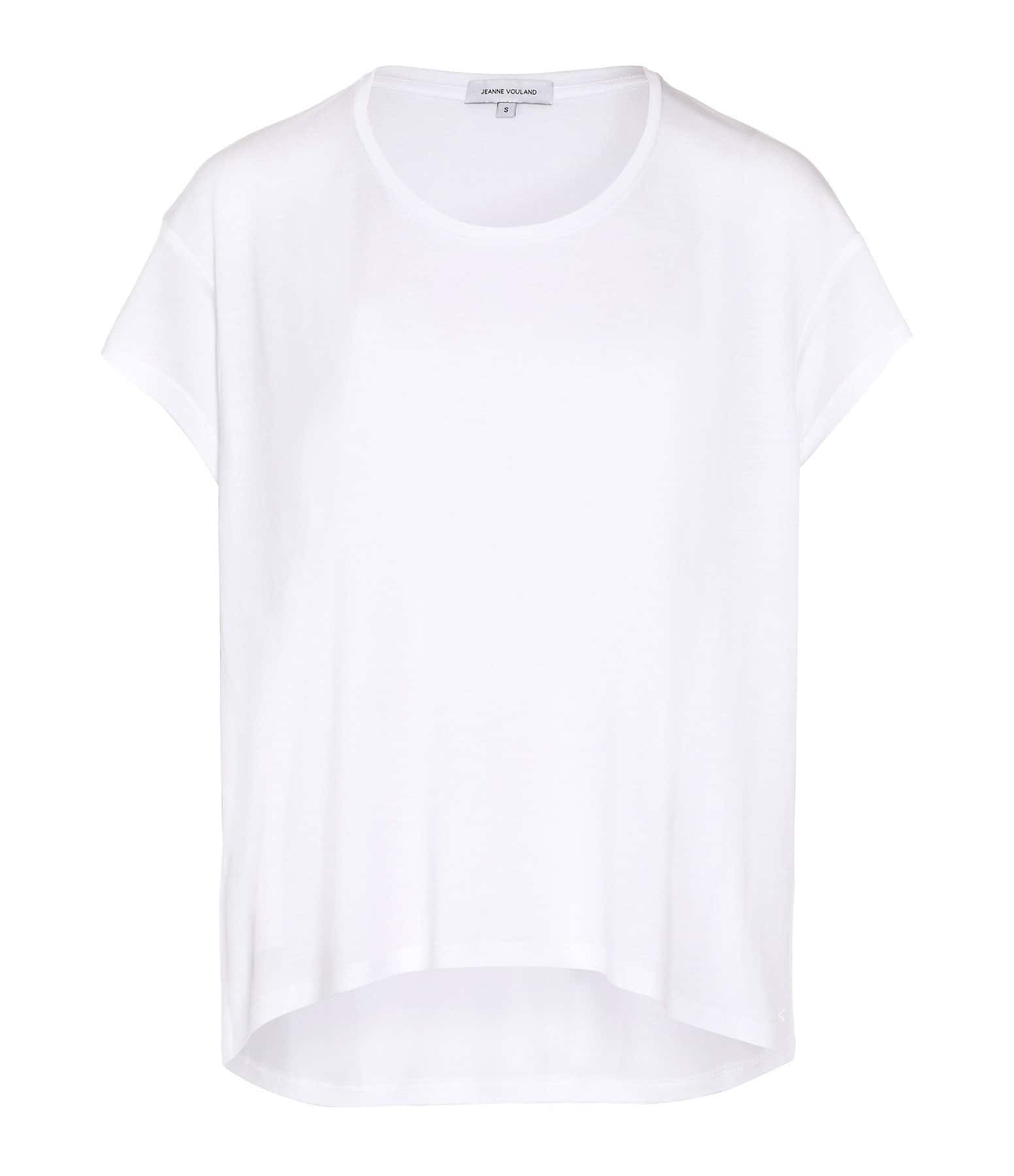 JEANNE VOULAND - Tee-shirt Bach Lyocell Blanc