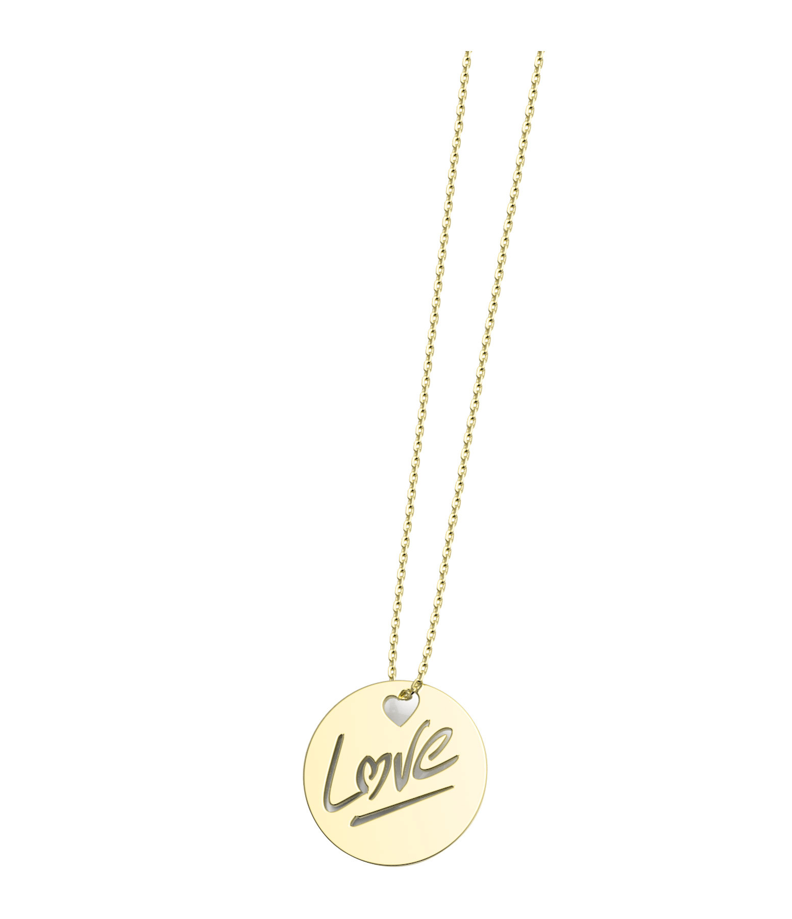 NAVA JOAILLERIE - Collier Rond Love S Or Jaune