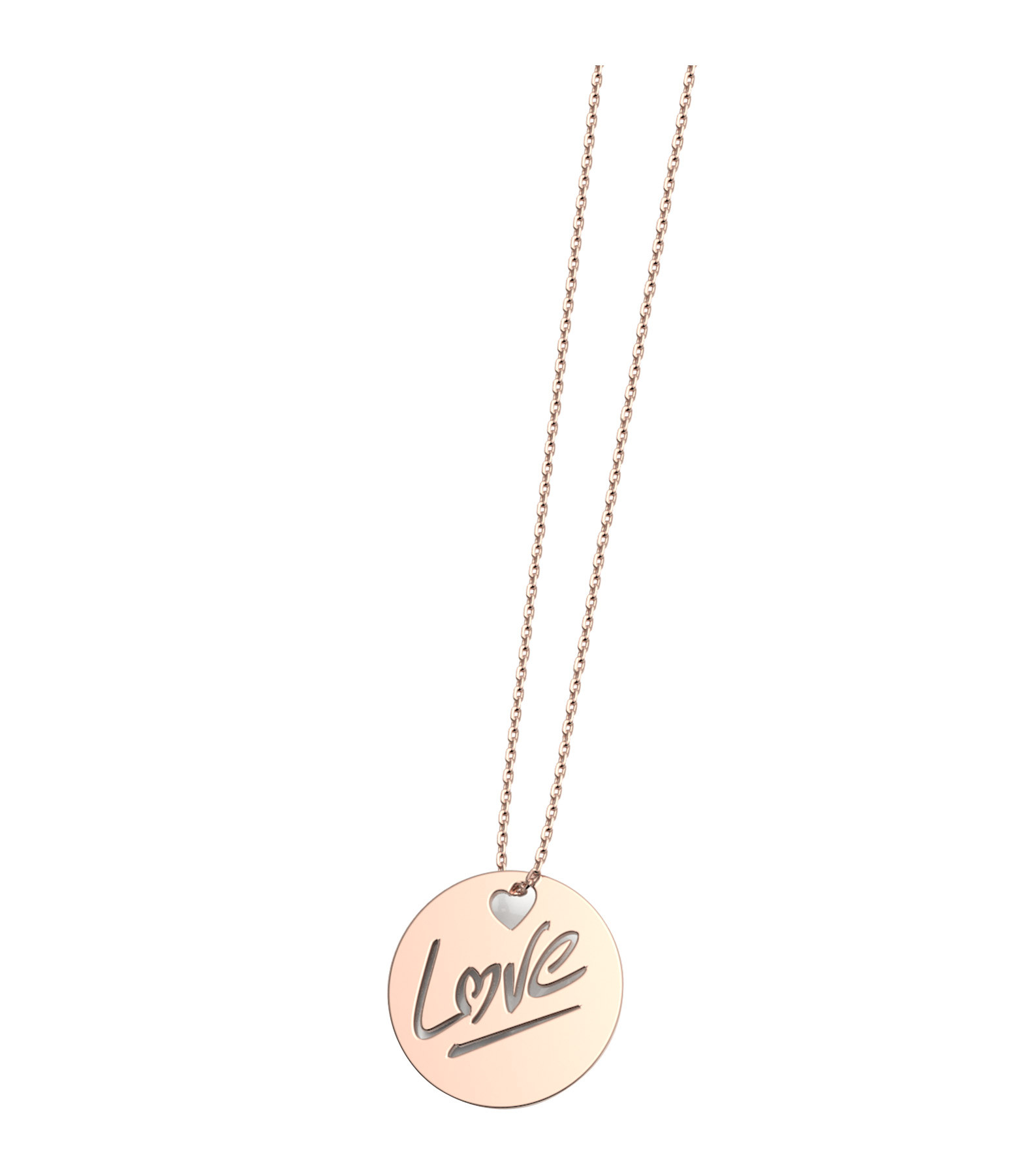 NAVA JOAILLERIE - Collier Rond Love S Or Rose