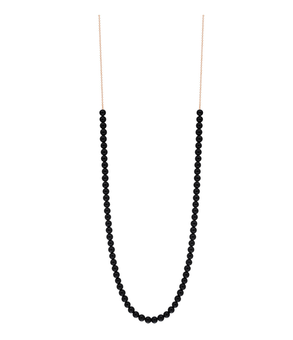 GINETTE_NY - Collier Maria Boulier Onyx