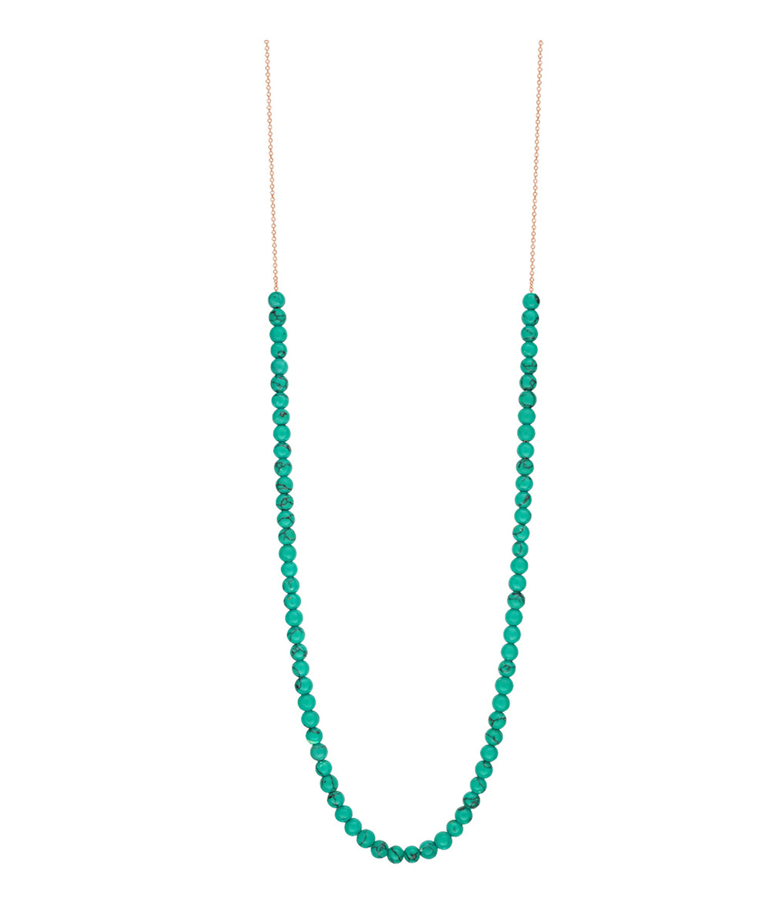 GINETTE_NY - Collier Maria Boulier Turquoise