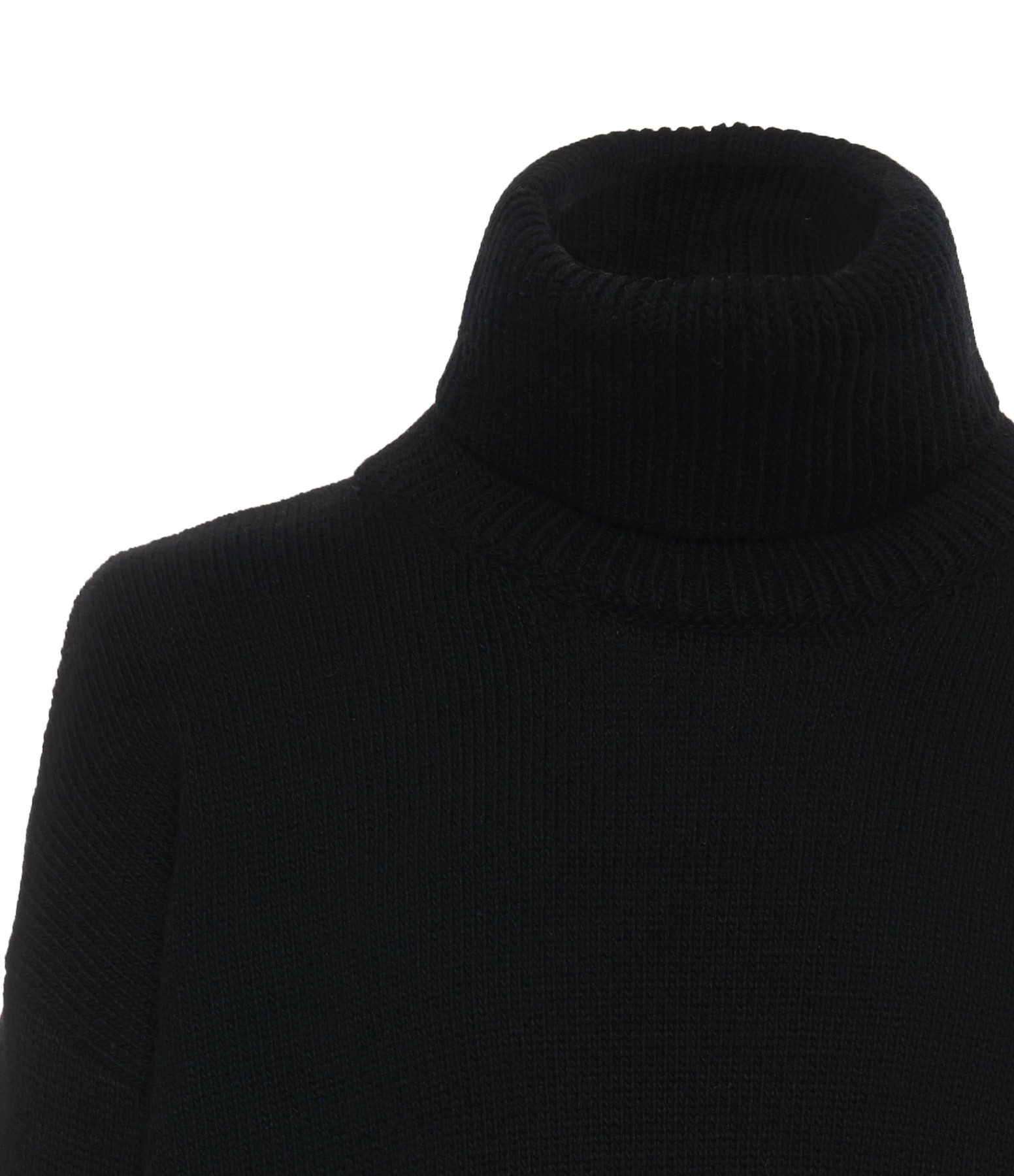 MADE IN TOMBOY - Pull Col Roulé Noir
