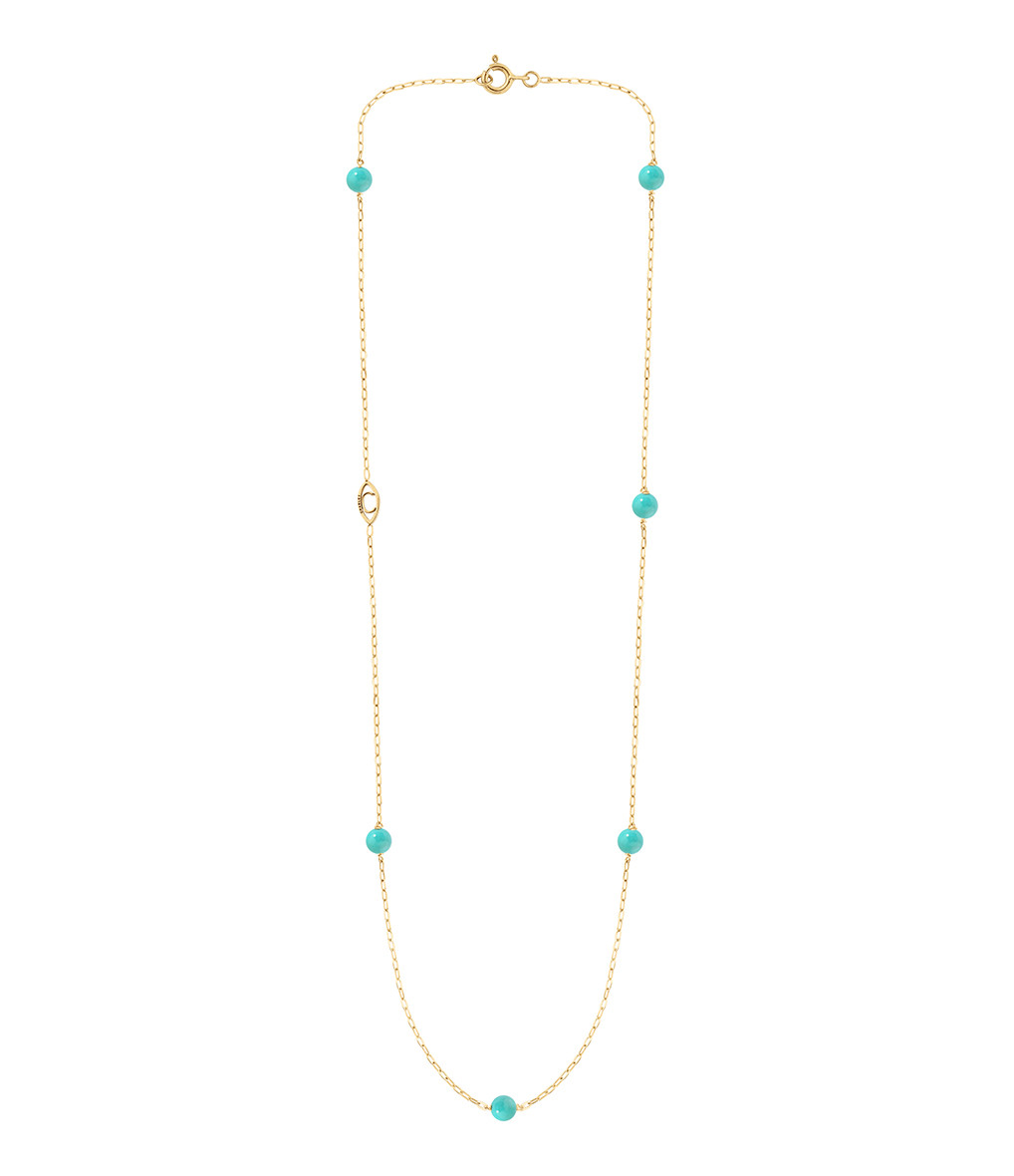 CHARLET - Collier Massilia Turquoise