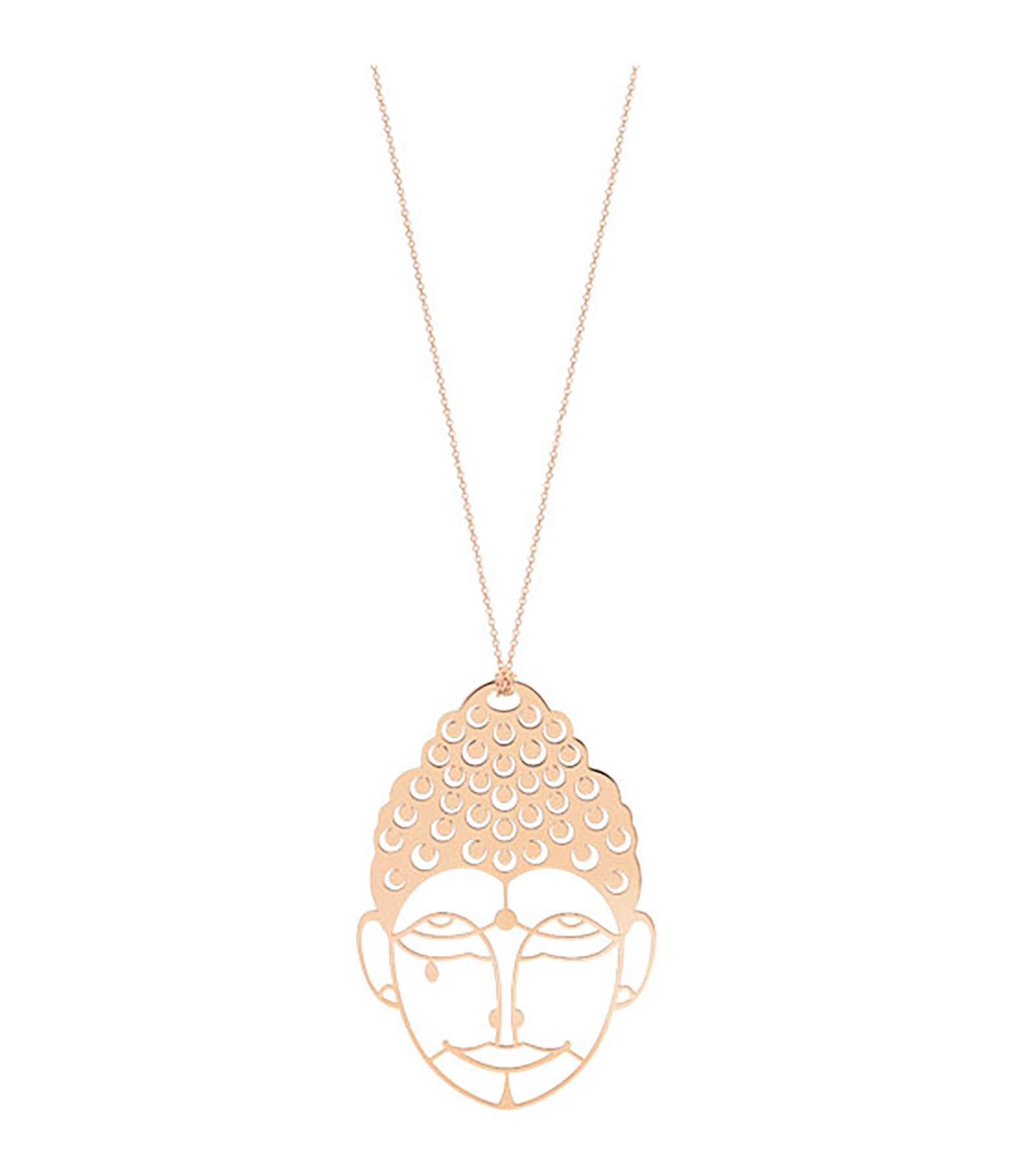 GINETTE NY - Collier Buddha Or Rose