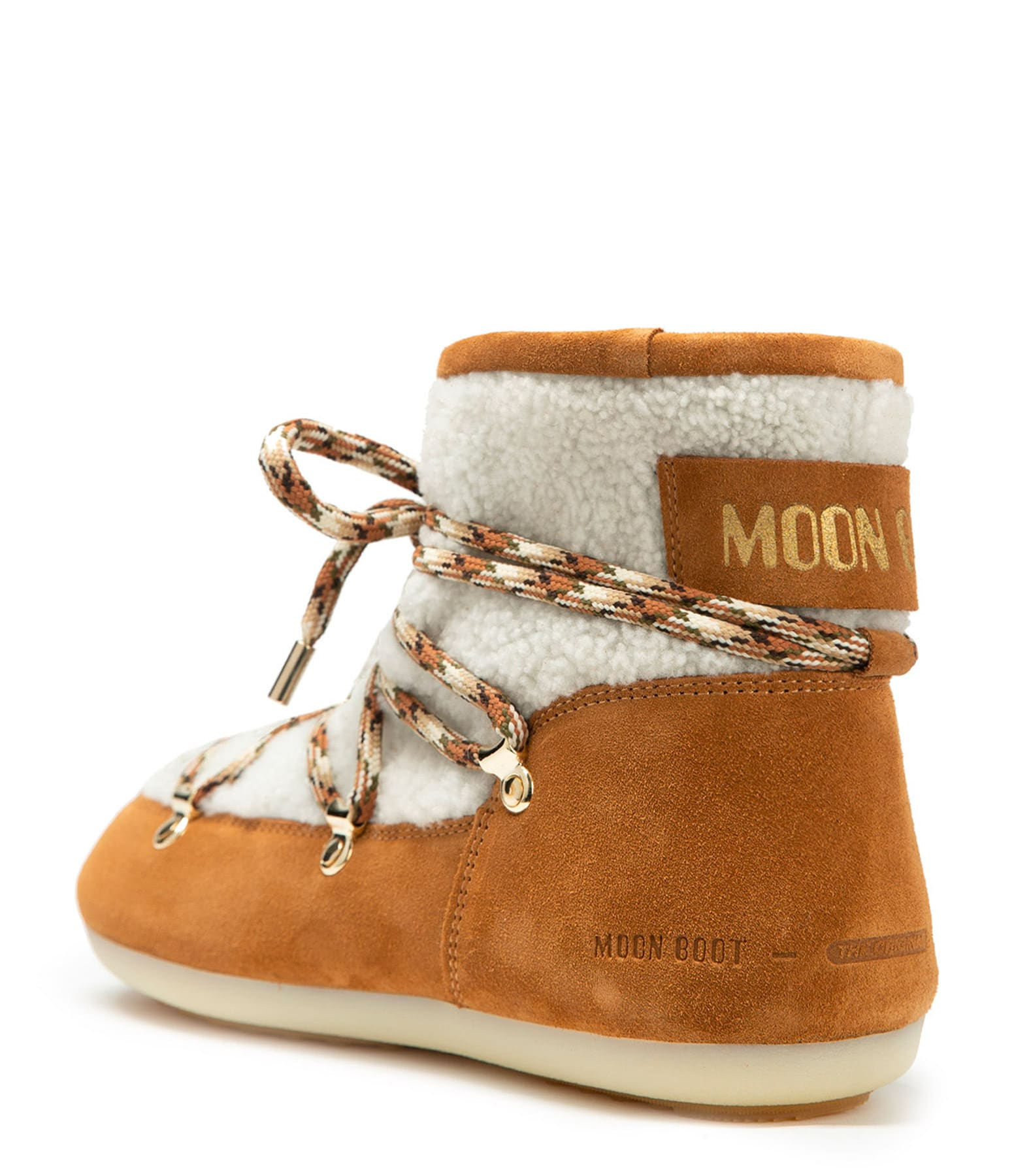 MOON BOOT - Moon Boot Basses DK Side Whisky Beige