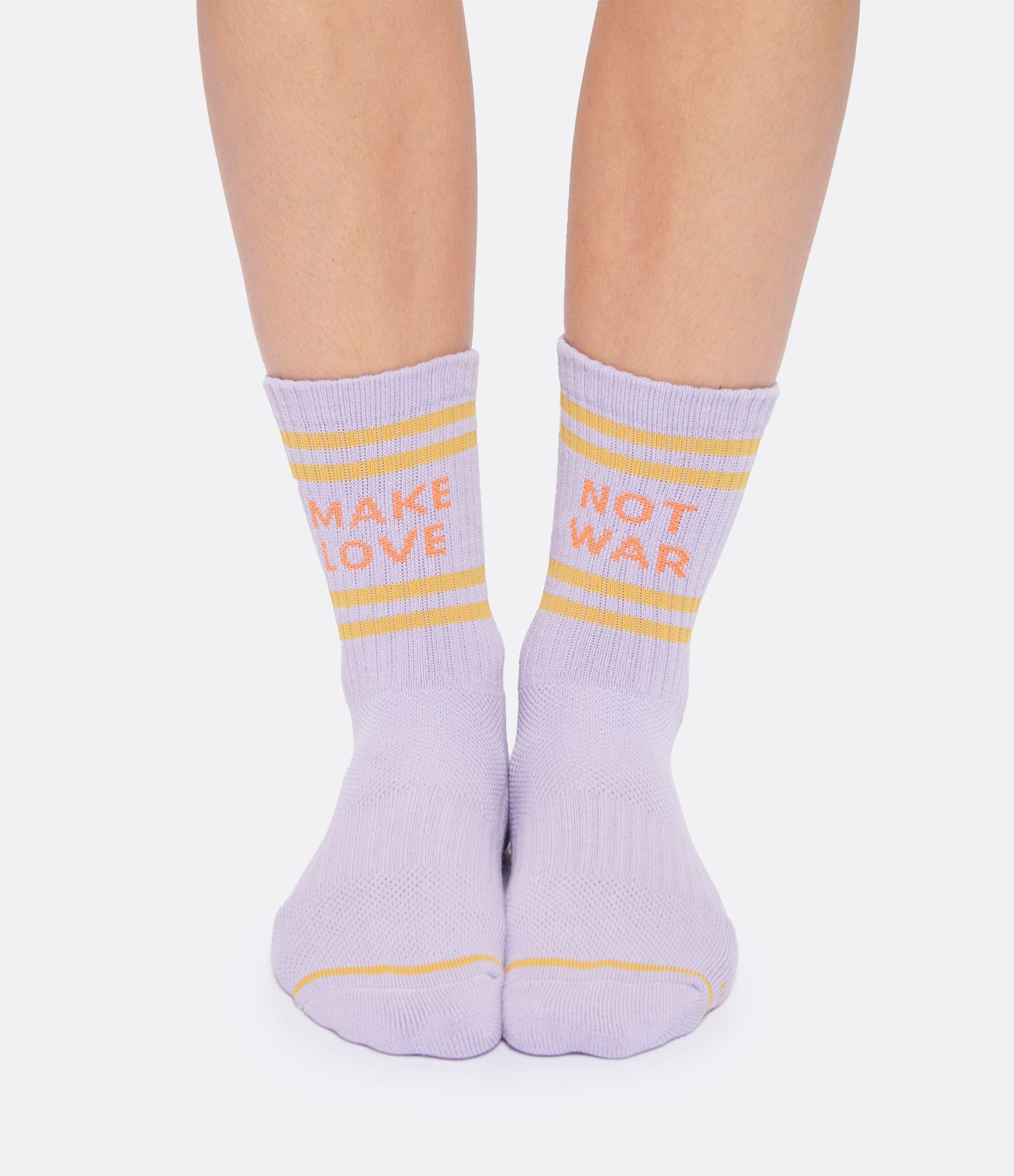 MOTHER - Chausettes Baby Steps Coton Violet