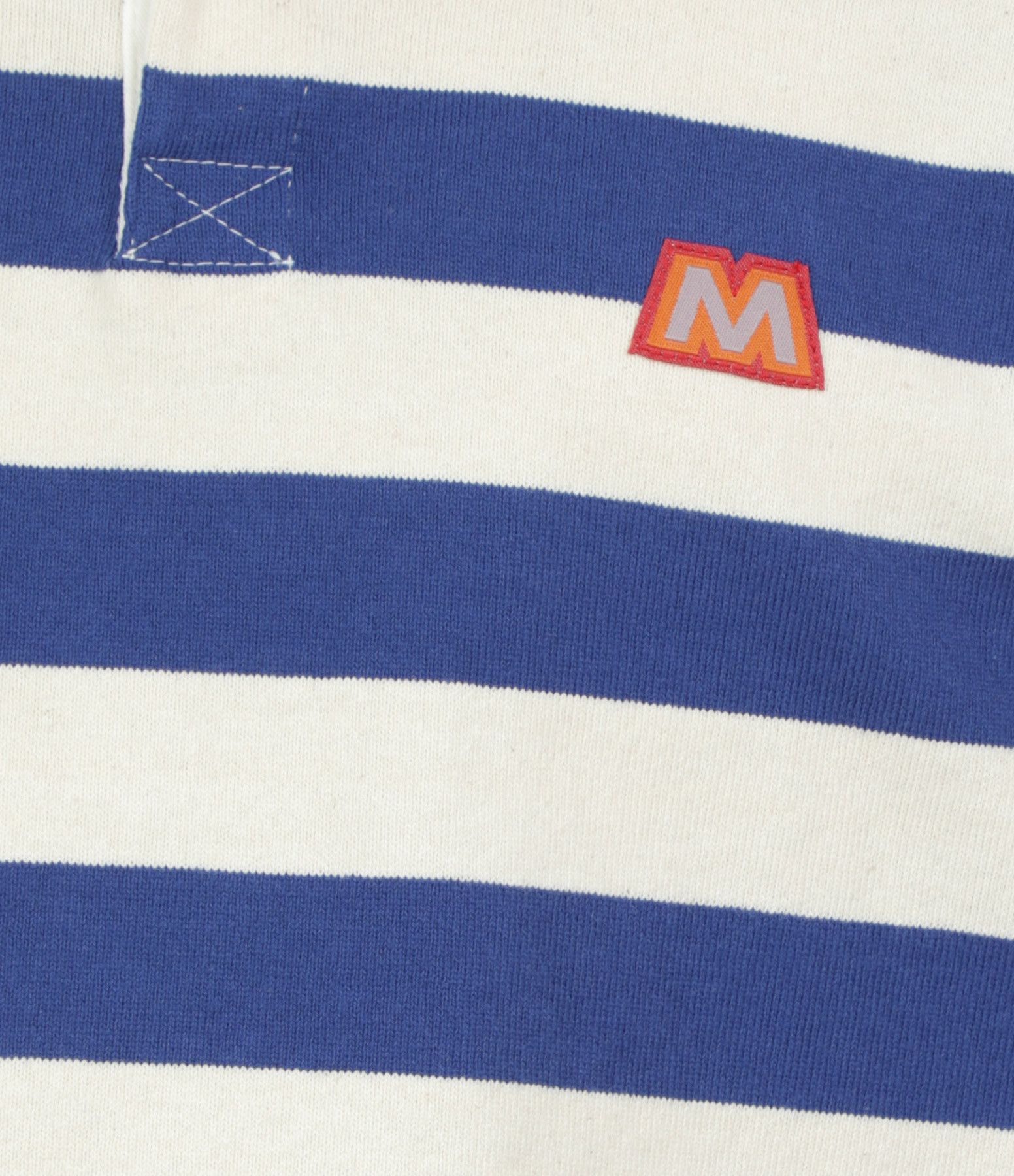 MOTHER - Tee-shirt The L/S Boxy Coton Game On