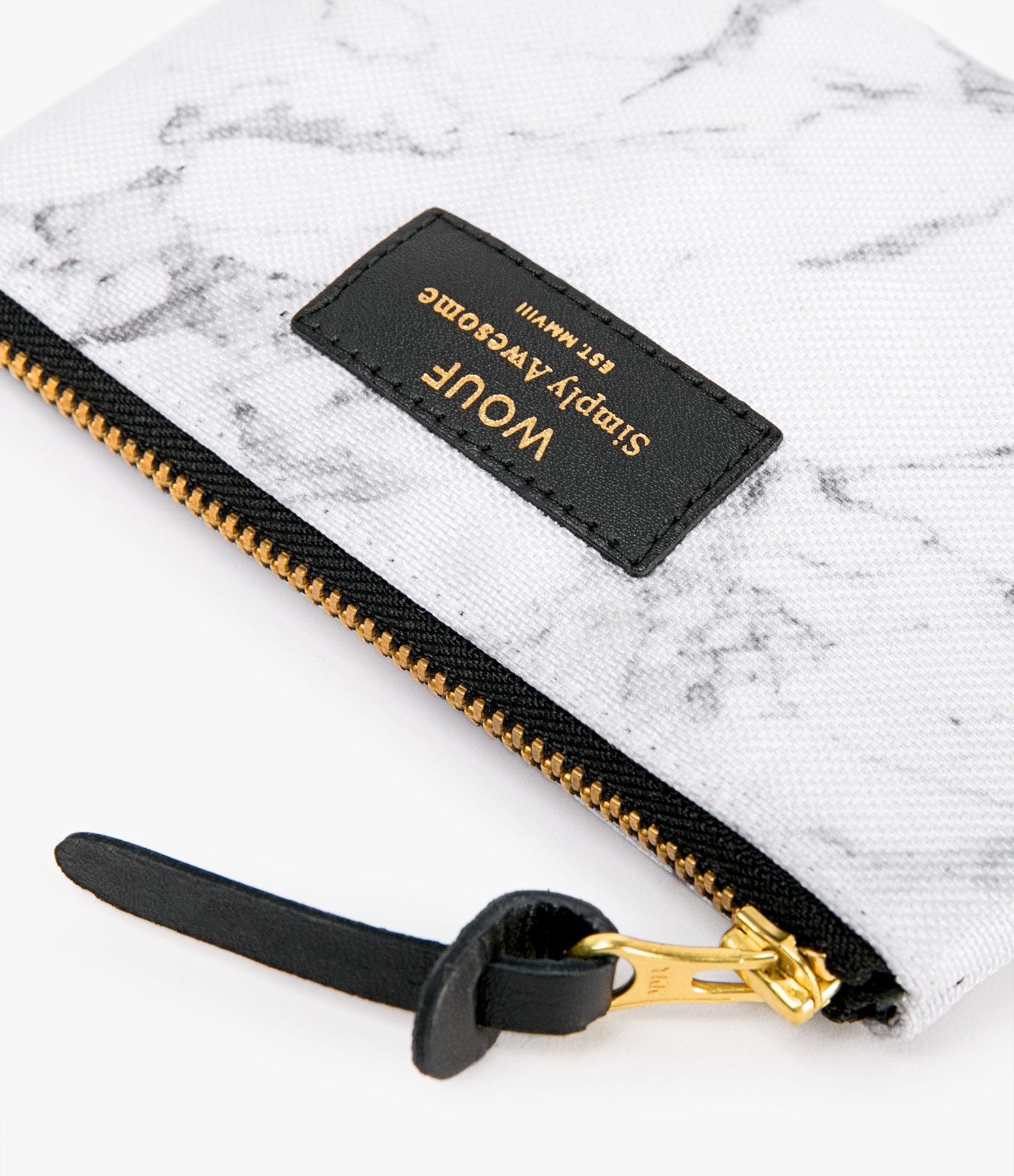 WOUF - Trousse S White Marble