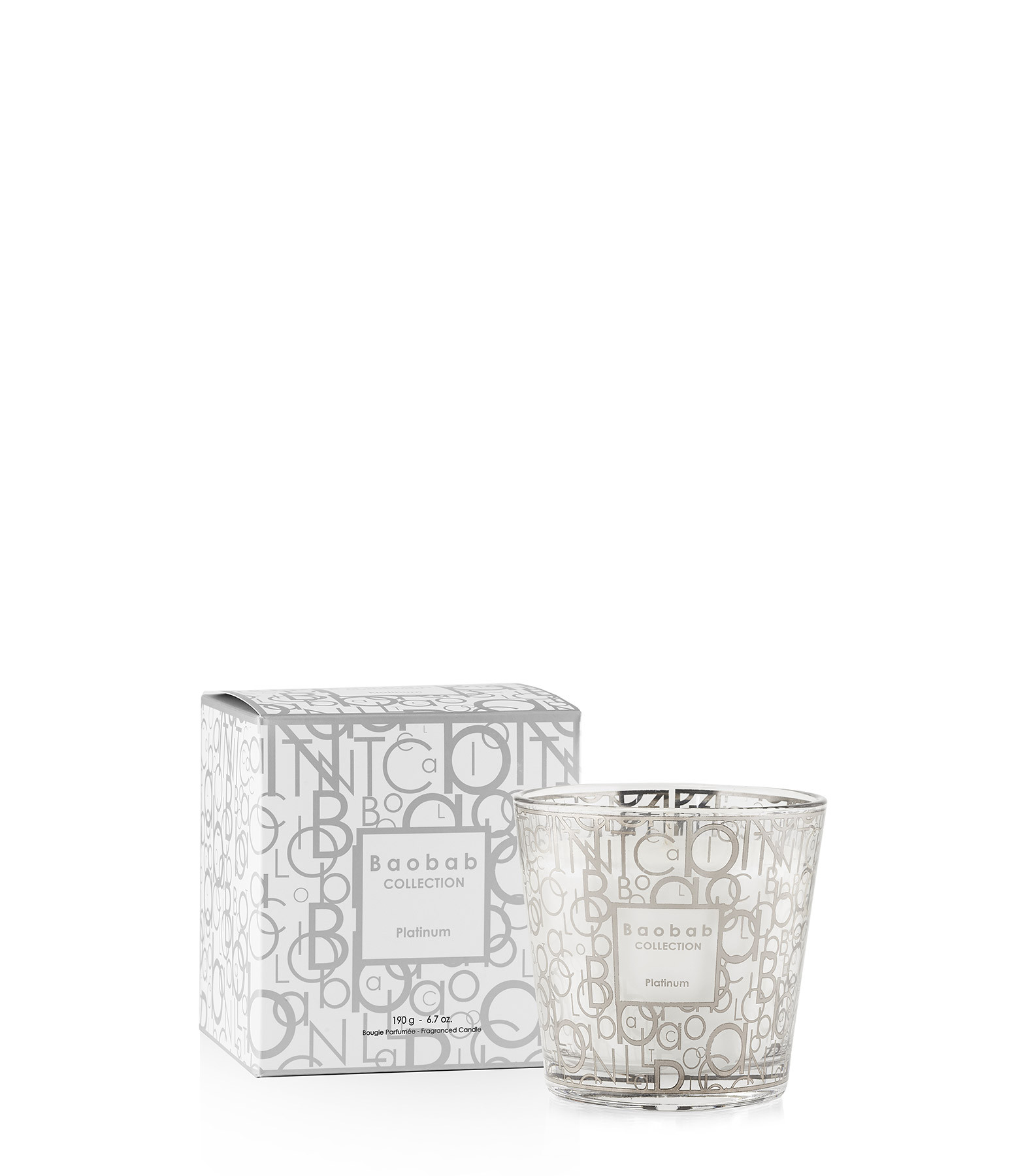 BAOBAB COLLECTION - Bougie Max One My First Baobab Platinum
