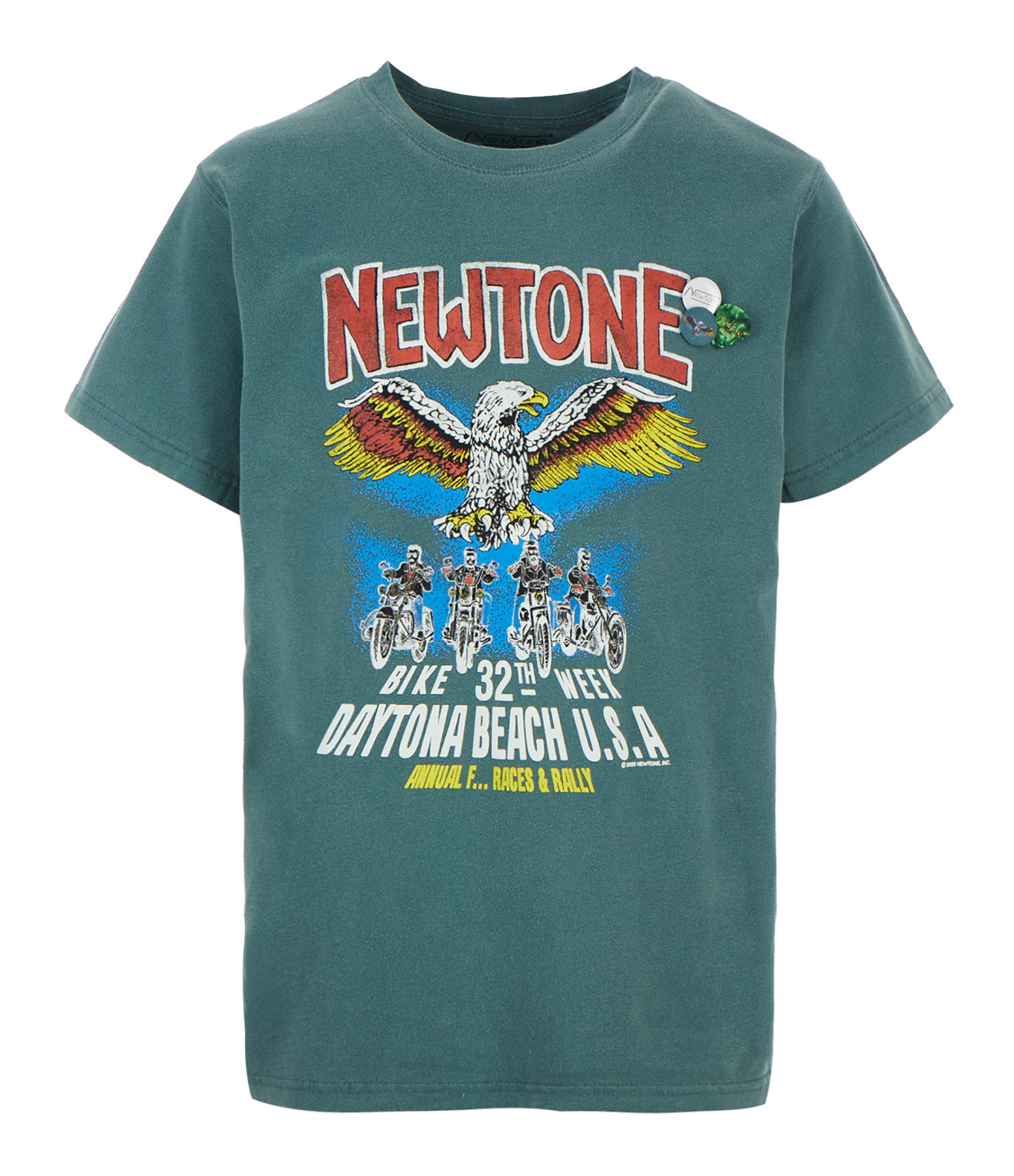 NEWTONE - Tee-shirt Trucker Convention Coton Forest
