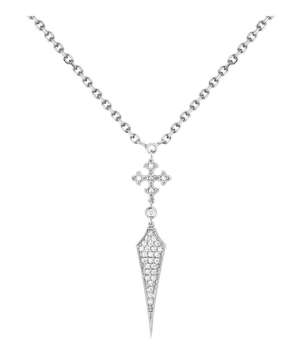 Collier Passion Long Or Diamants - STONE