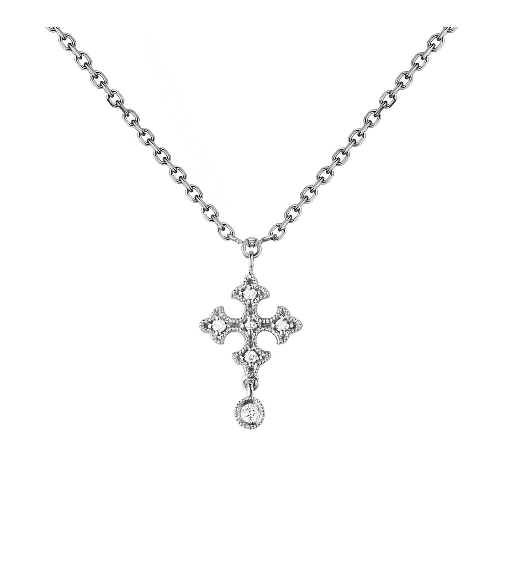 Collier Passion Simple Or Diamants- STONE
