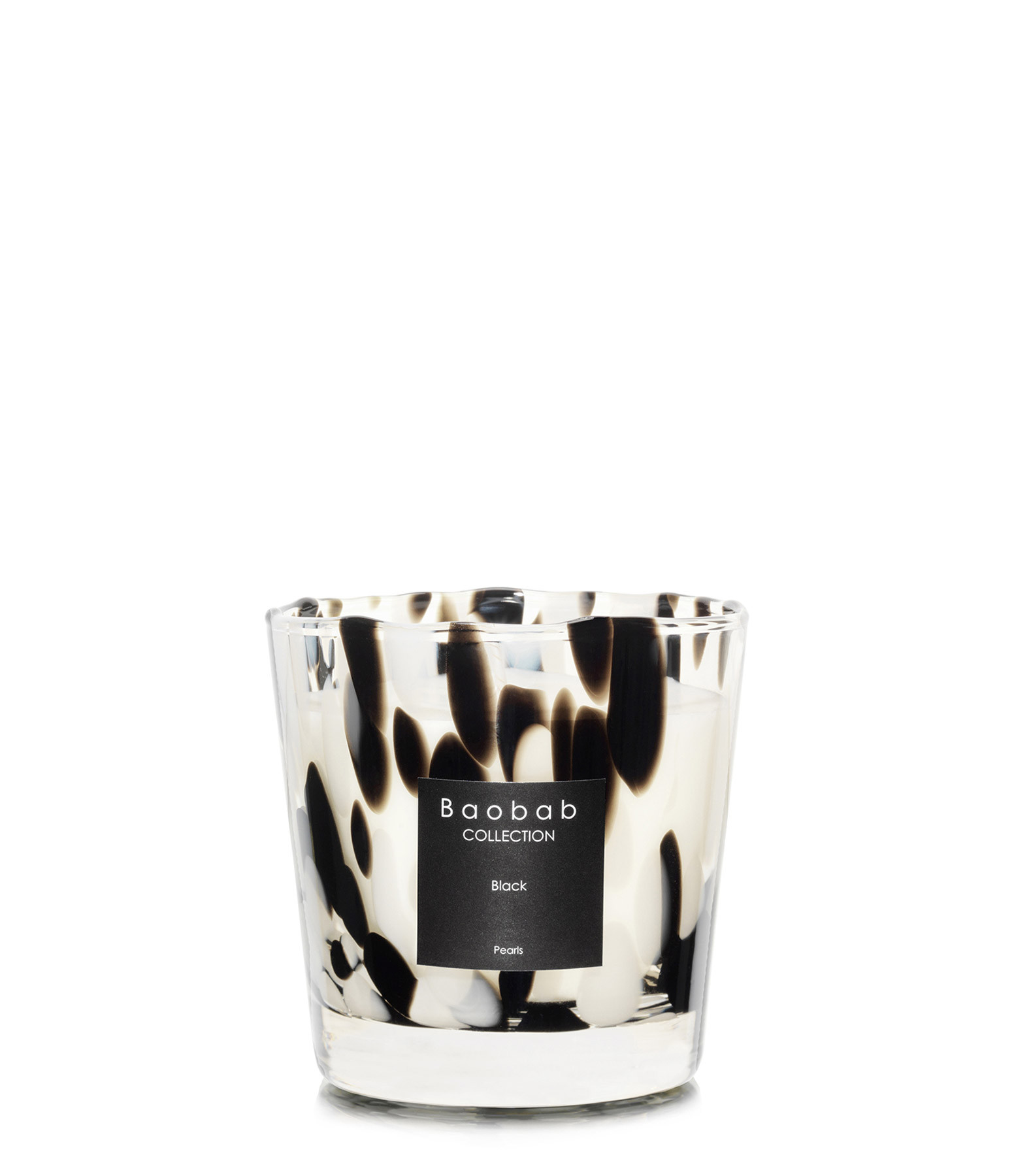 BAOBAB COLLECTION - Bougie Max One Black Pearls