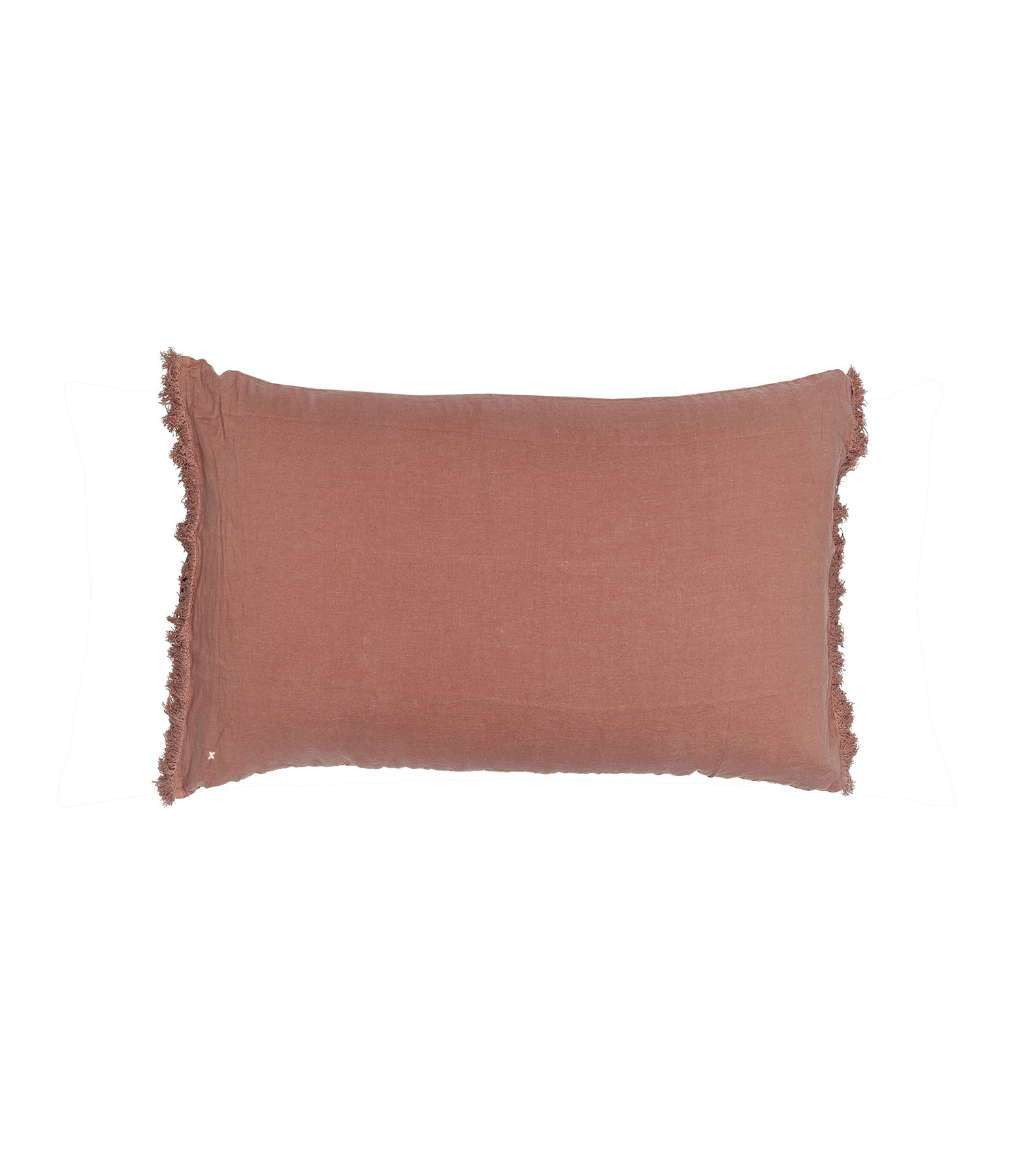 BED AND PHILOSOPHY - Coussin Rectangle Queens Lin Rose Bud