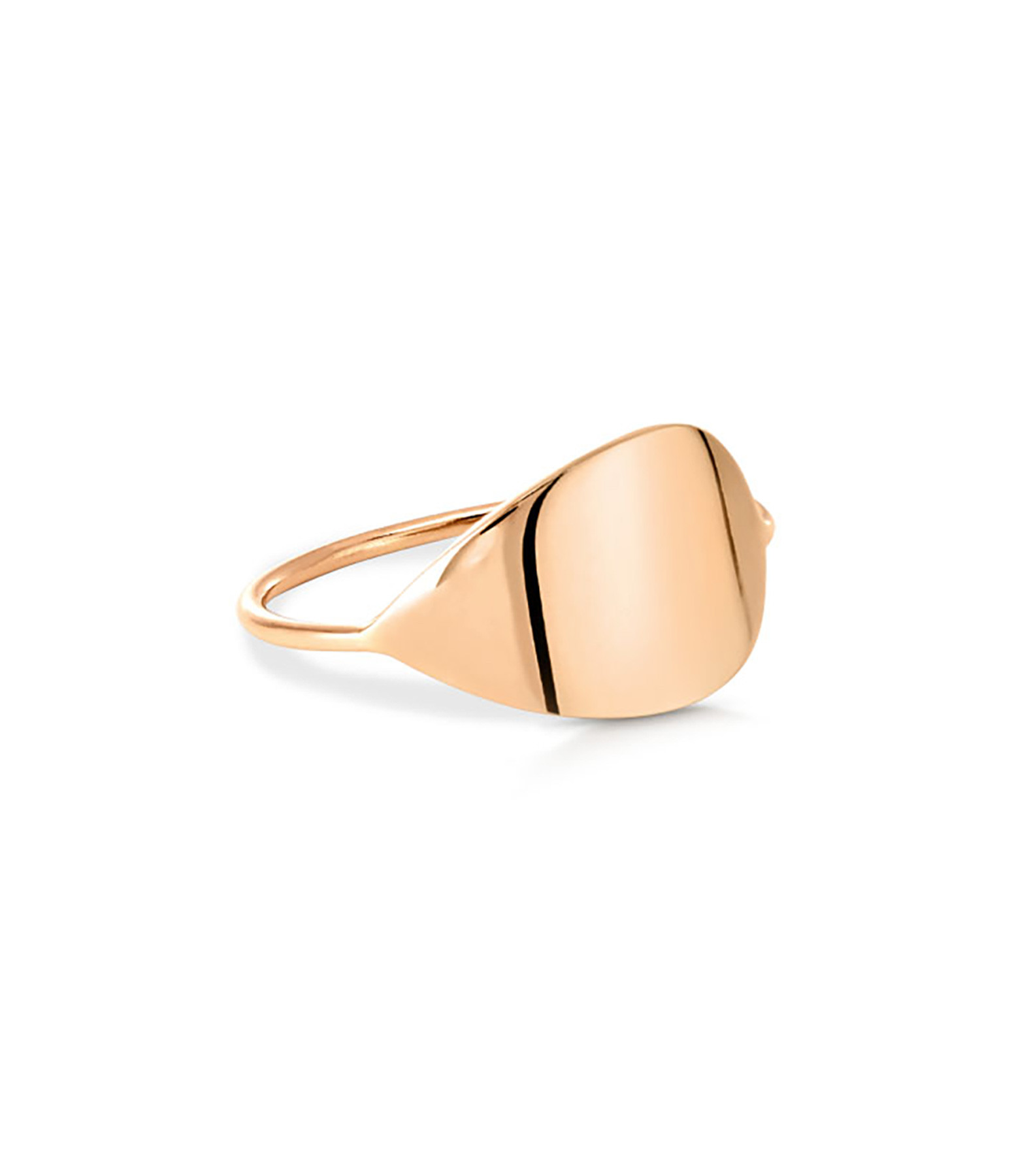 GINETTE NY - Bague Bliss Or Rose