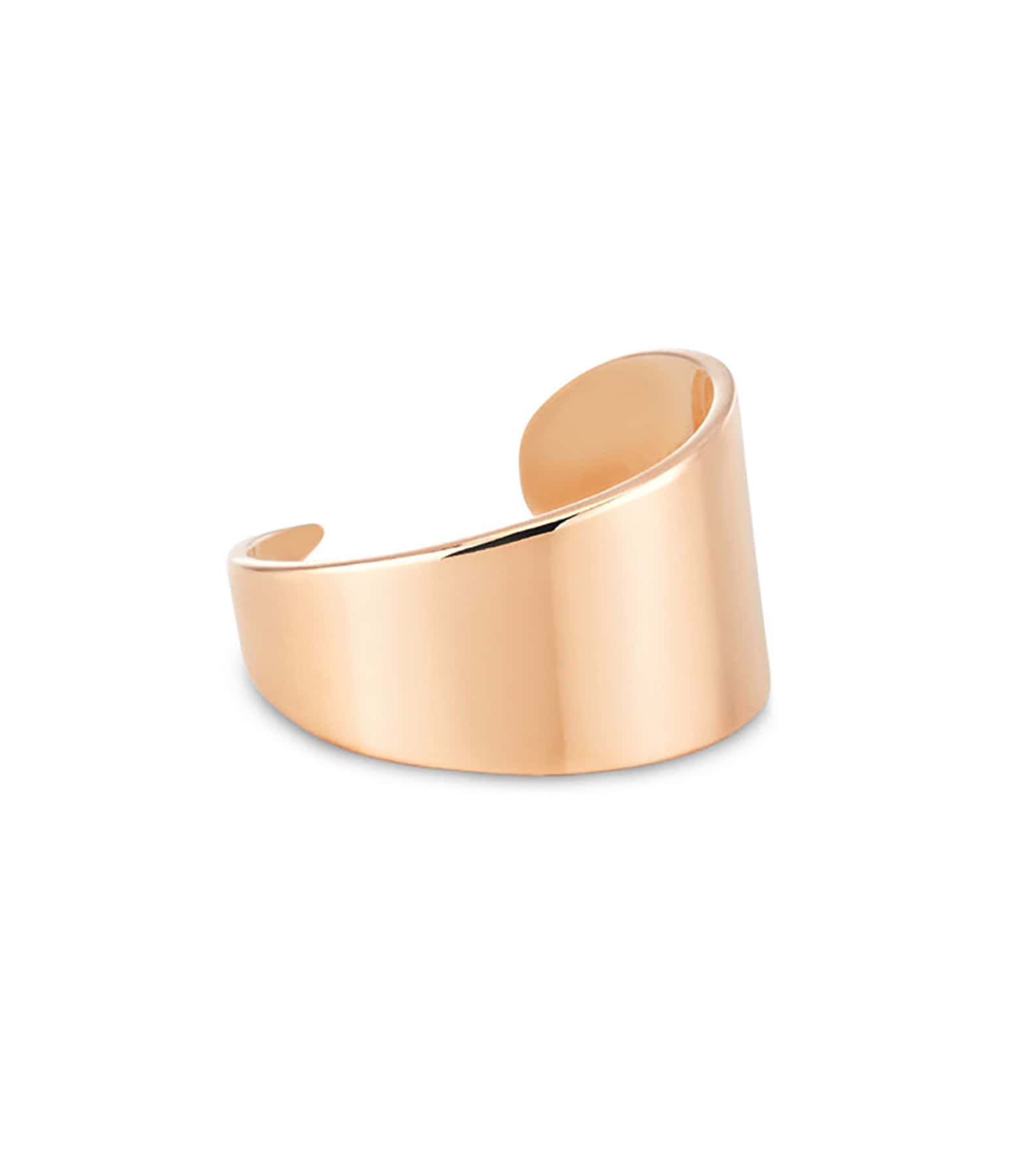 GINETTE NY - Bague Bliss Large Or Rose