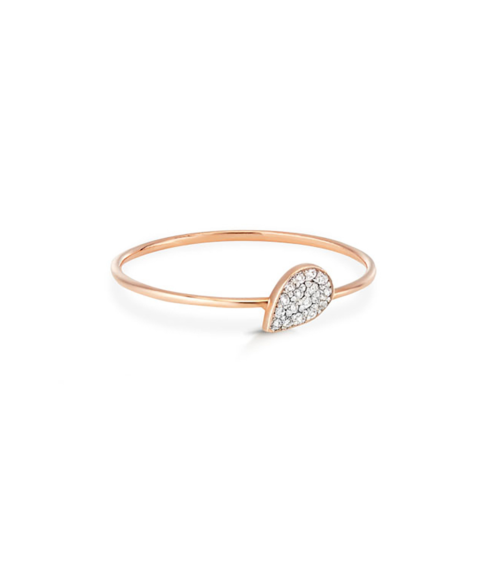 GINETTE NY - Bague Bliss Diamants Or Rose
