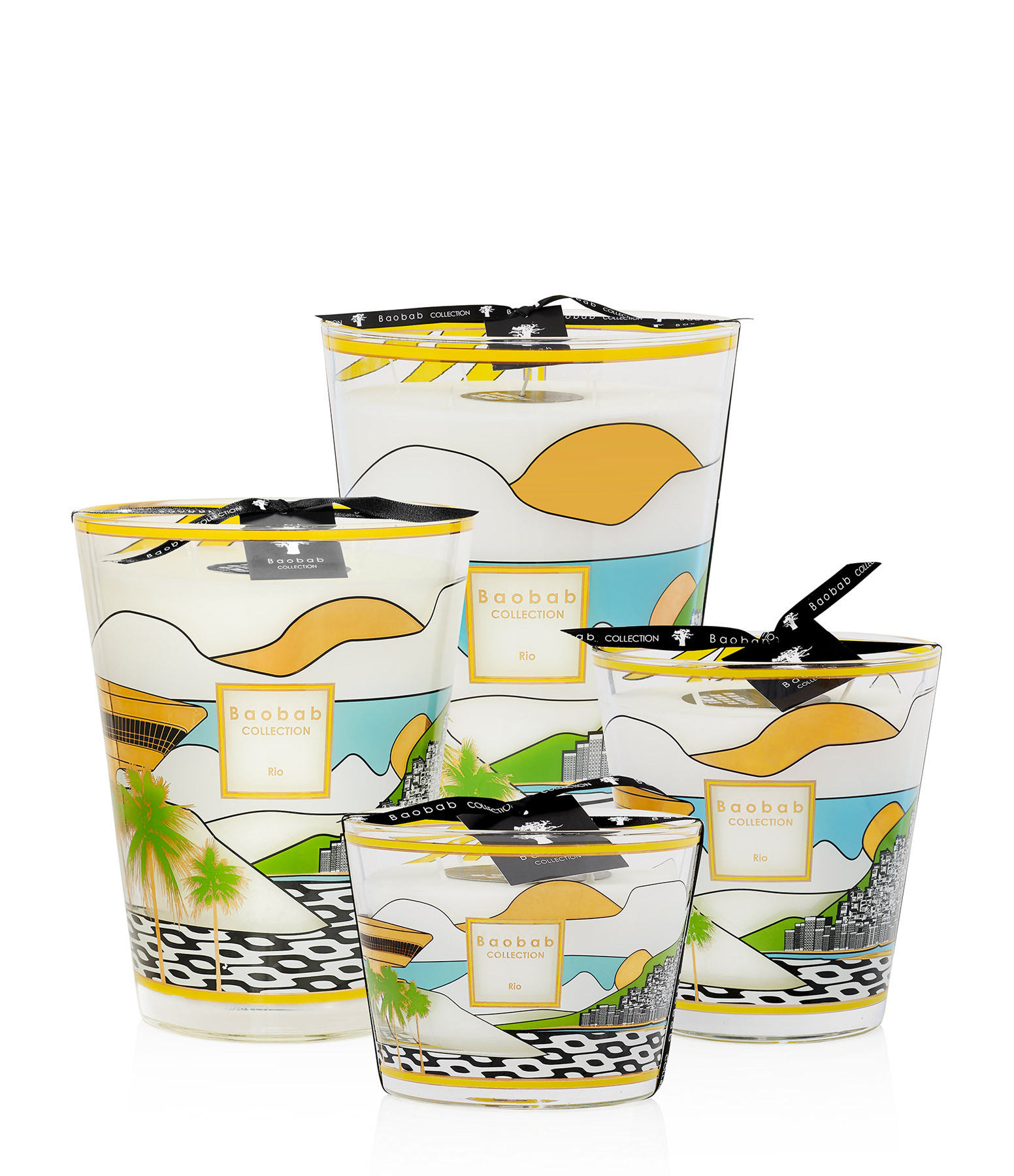 BAOBAB COLLECTION - Bougie Max 10 Cities Rio