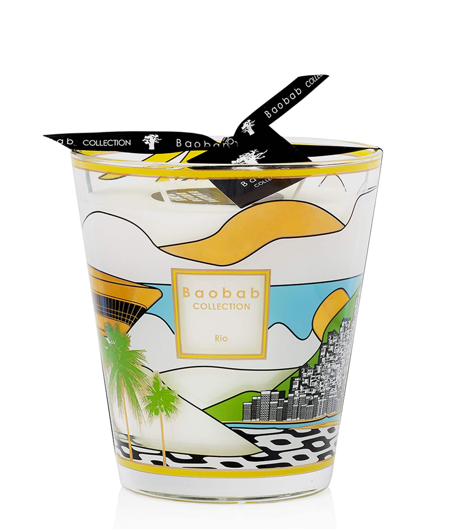 BAOBAB COLLECTION - Bougie Max 16 Cities Rio