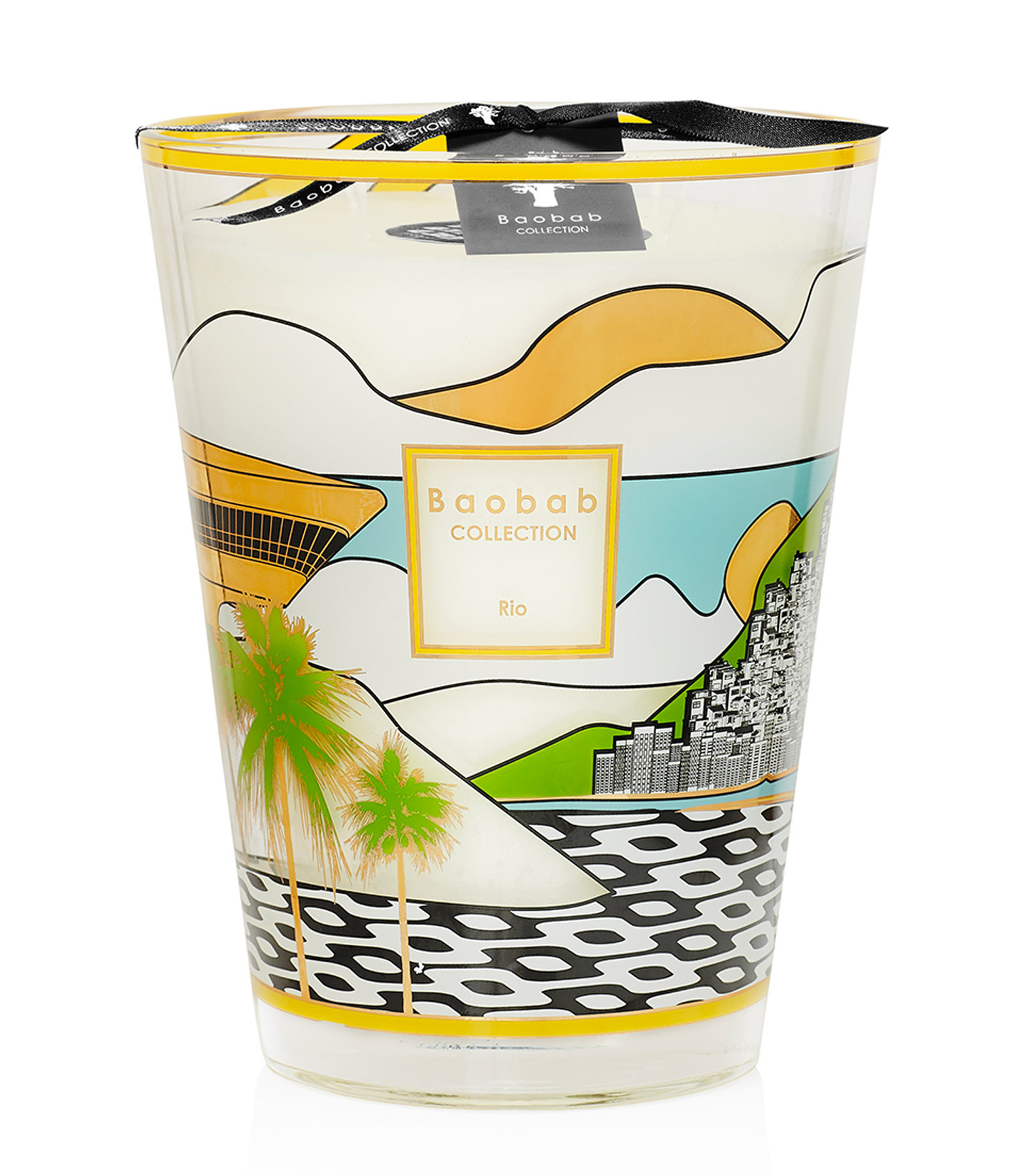 BAOBAB COLLECTION - Bougie Max 24 Cities Rio