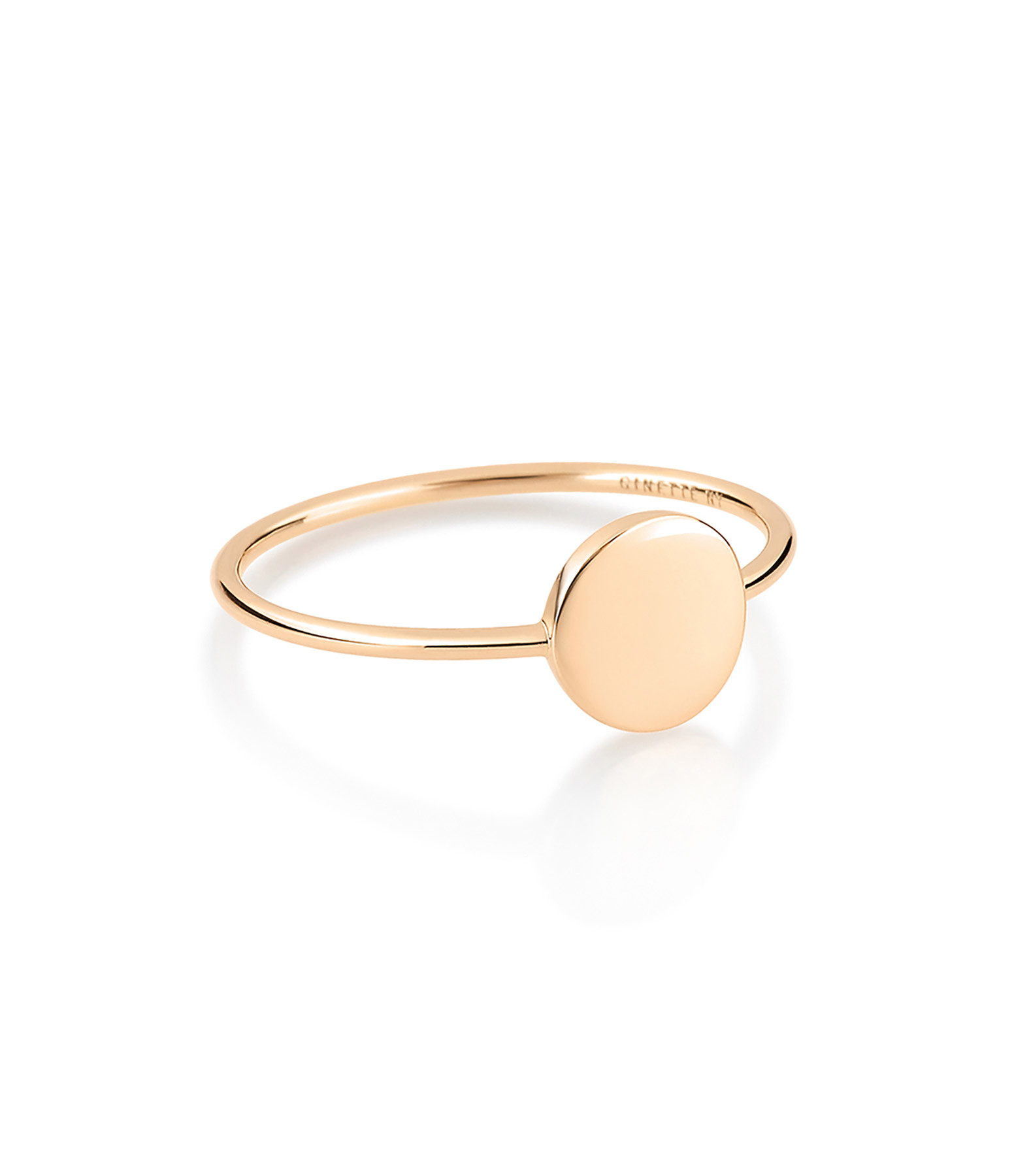GINETTE_NY - Bague Mini Ever Disc