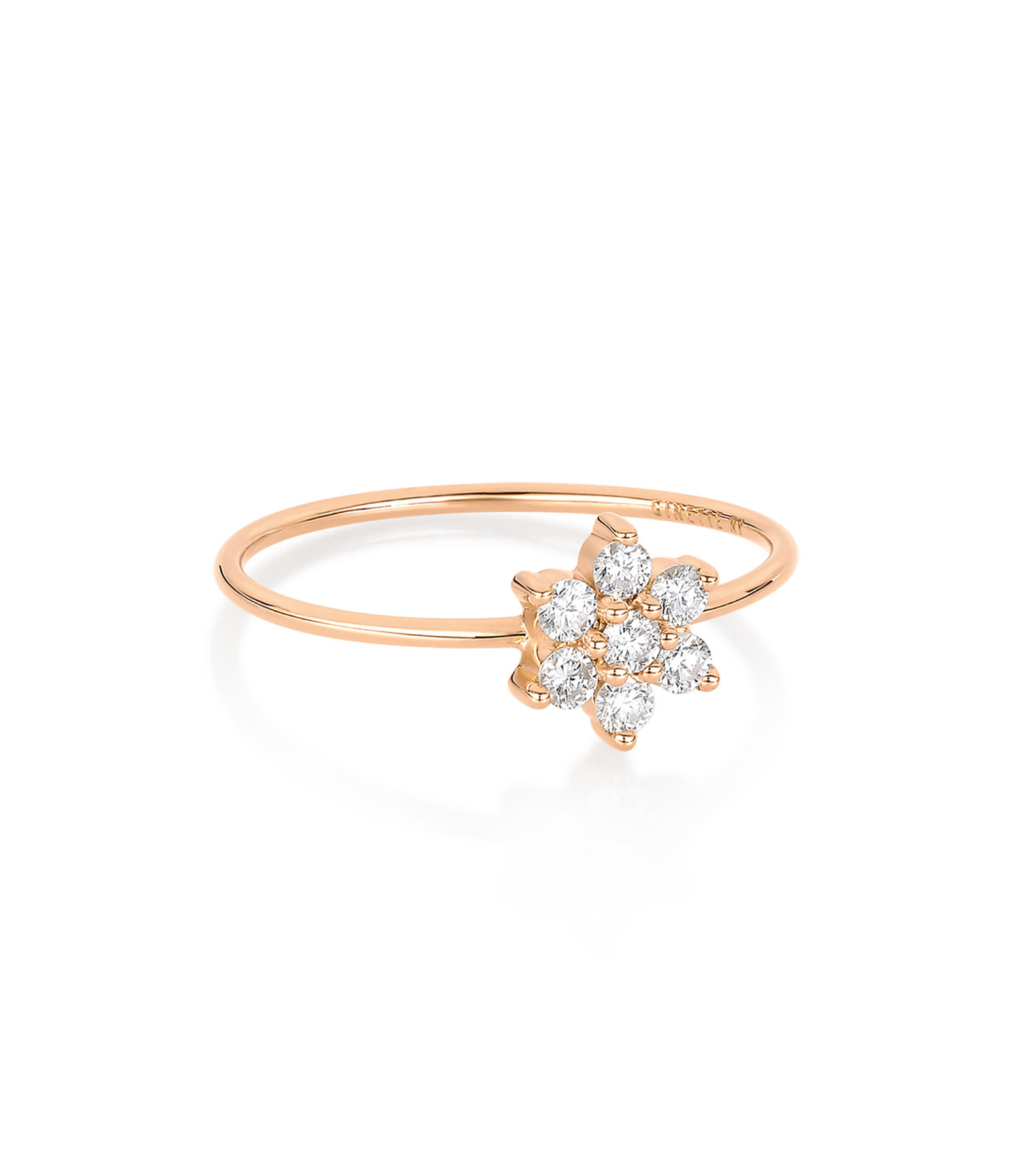 Bague Diamond Star Simple - Ginette-ny