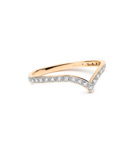 Bague Wise Long Diamants - GINETTE_NY
