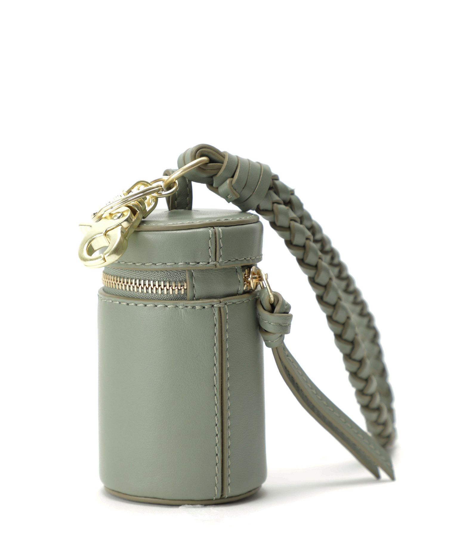 SEE BY CHLOE - Porte-clés Pineapple Cuir Misty Forest